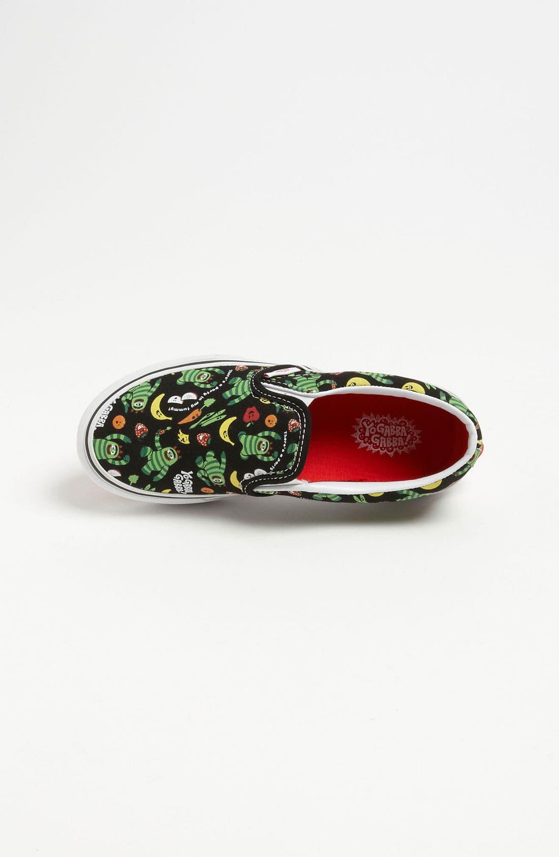 Alternate Image 3  - Vans 'Classic - Yo Gabba Gabba!™' Slip-On Sneaker (Toddler, Little Kid & Big Kid)