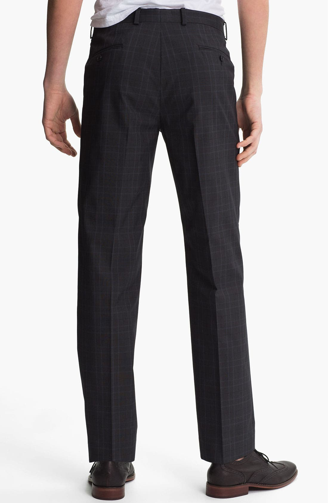 Alternate Image 2  - John Varvatos Star USA Red Label Slim Straight Leg Trousers