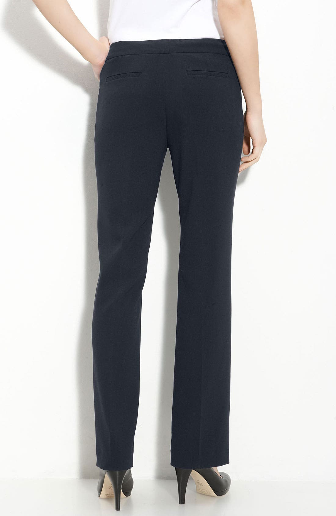Alternate Image 2  - T Tahari 'Hazel' Straight Leg Pants (Petite)