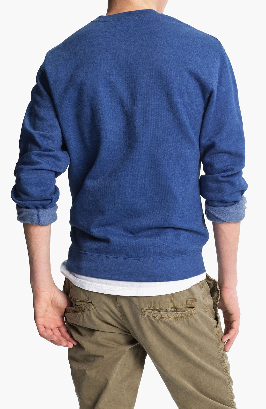 Alternate Image 2  - RVCA Crewneck Sweatshirt