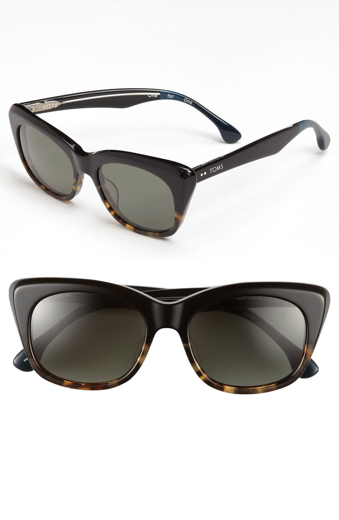 Alternate Image 1 Selected - TOMS 'Kitty' 53mm Sunglasses