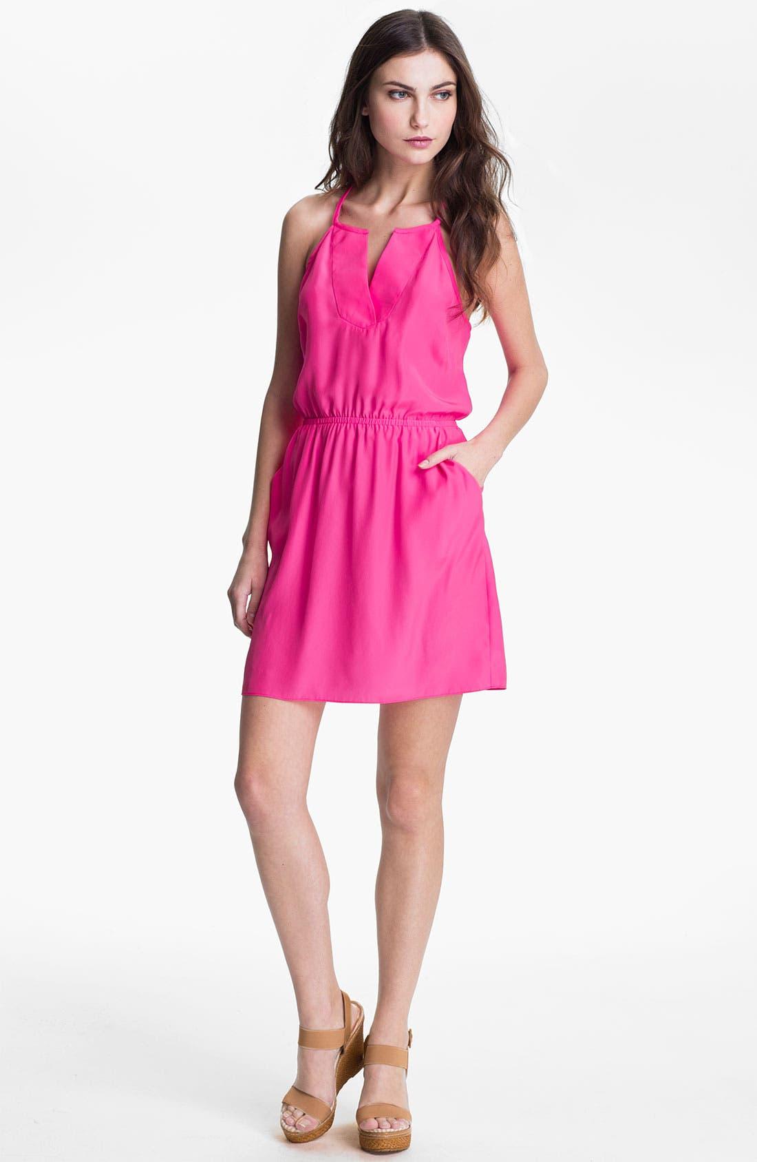 Main Image - ALICE & TRIXIE 'Erin' T-Back Silk Dress