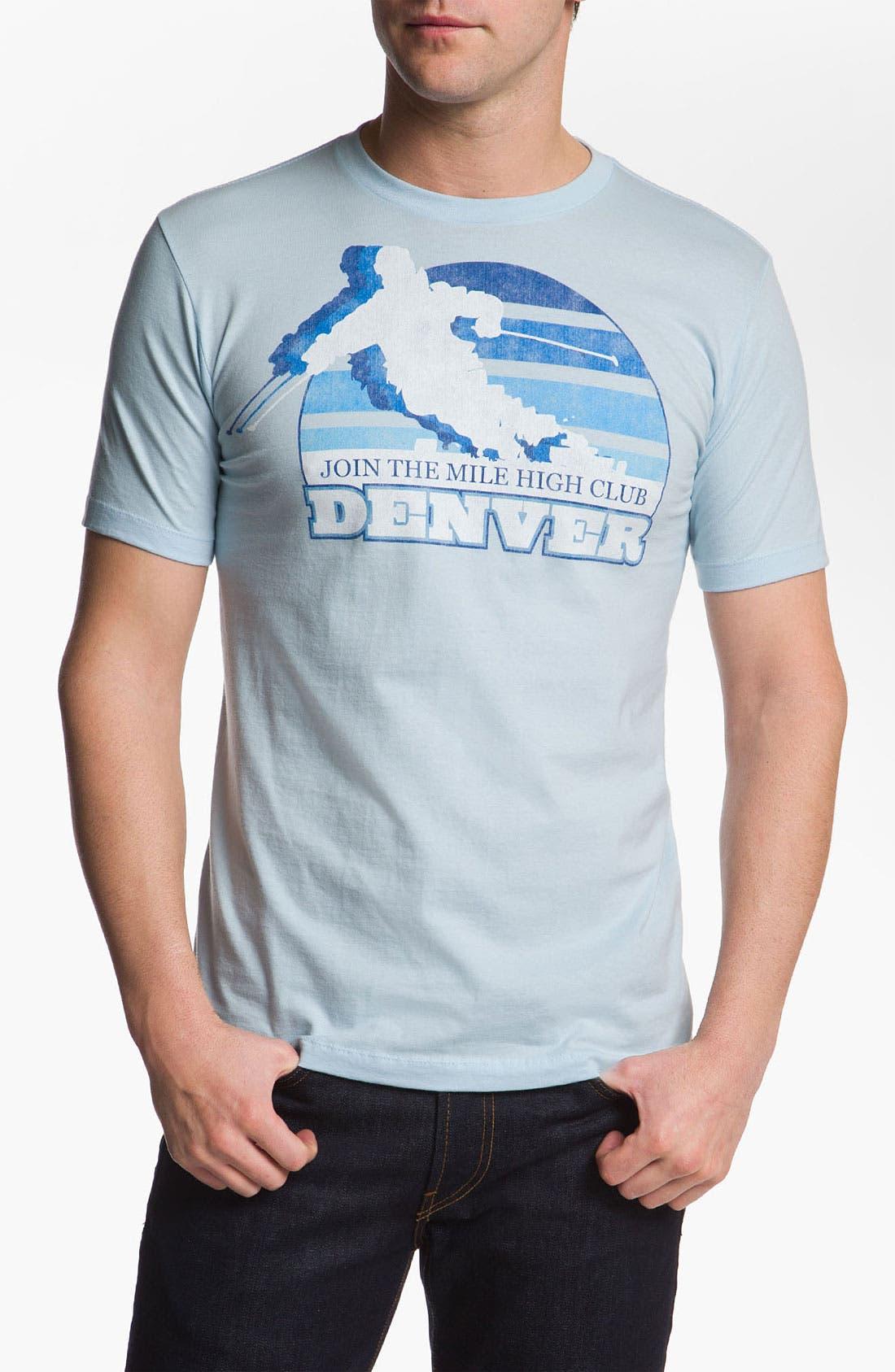 Alternate Image 1 Selected - Topless 'Mile High Denver' T-Shirt
