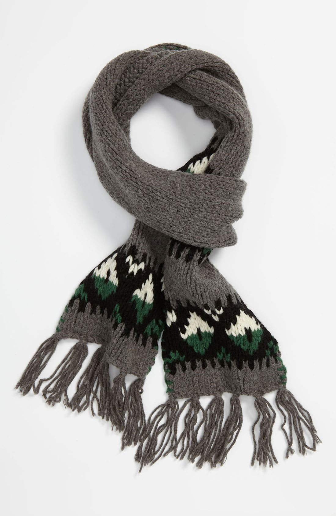 Alternate Image 1 Selected - DIESEL® 'Banner' Knit Scarf