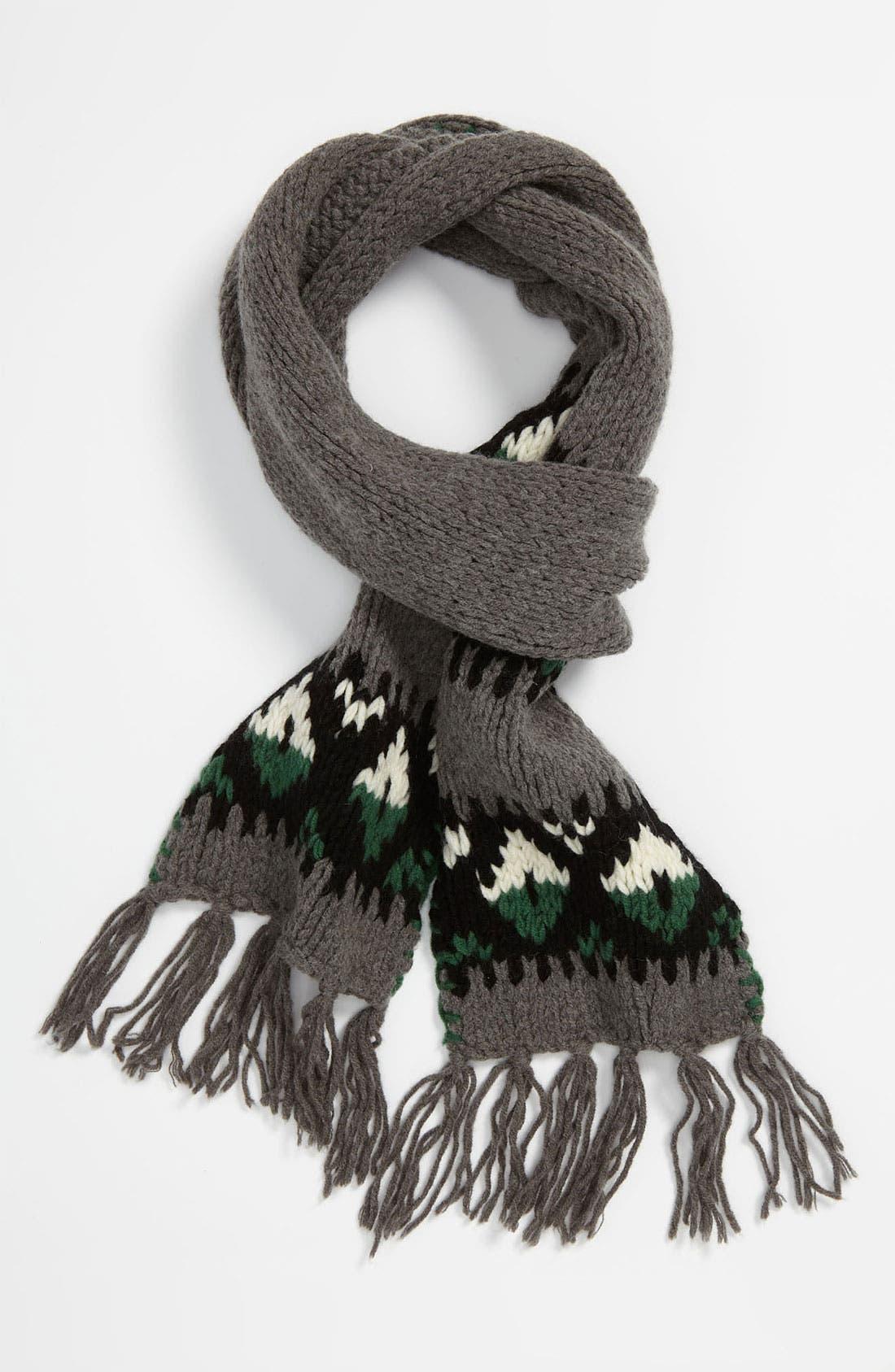 Main Image - DIESEL® 'Banner' Knit Scarf