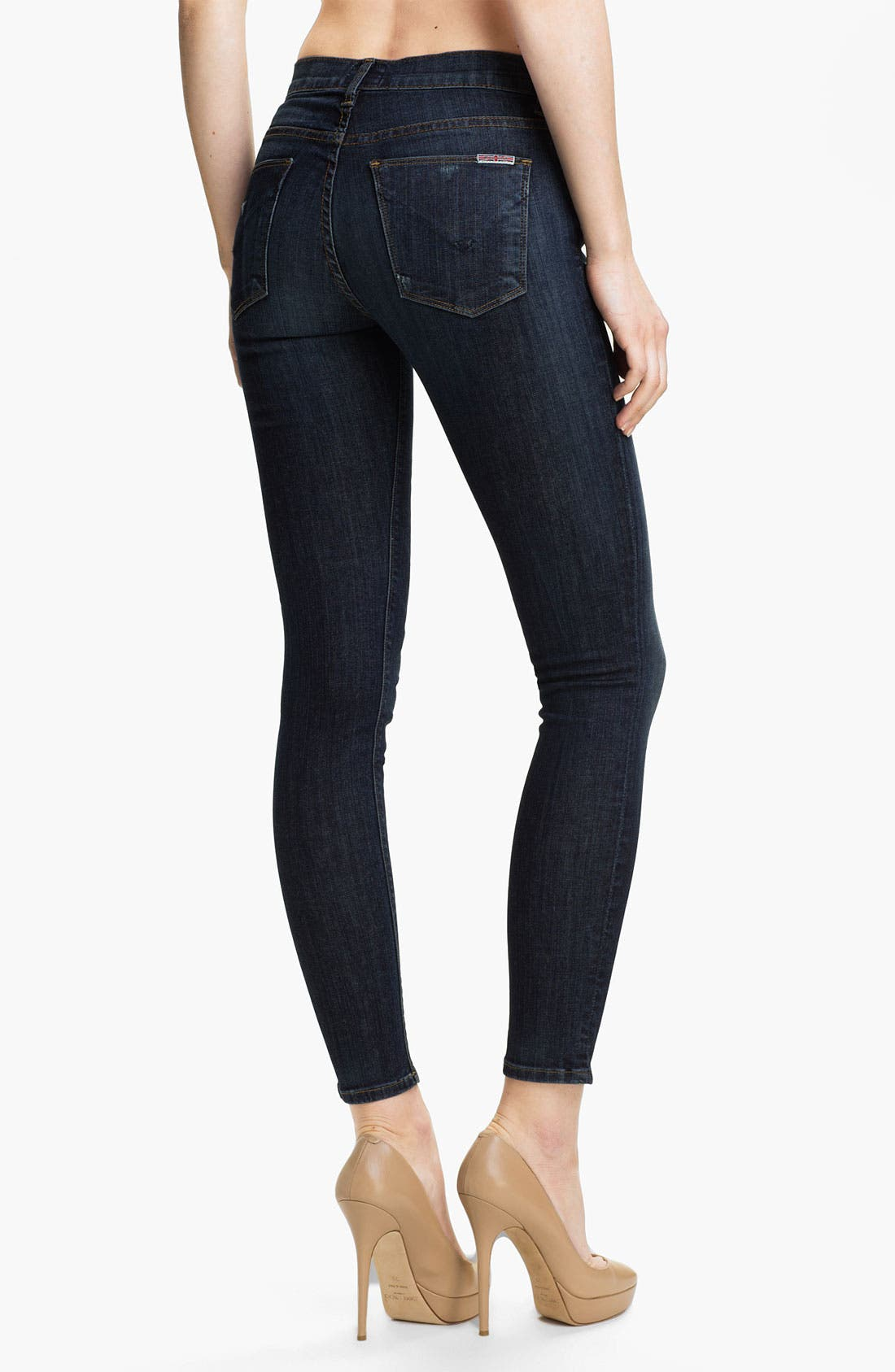 Alternate Image 2  - Hudson Jeans 'Nico' Mid Rise Skinny Jeans (Hoxton)