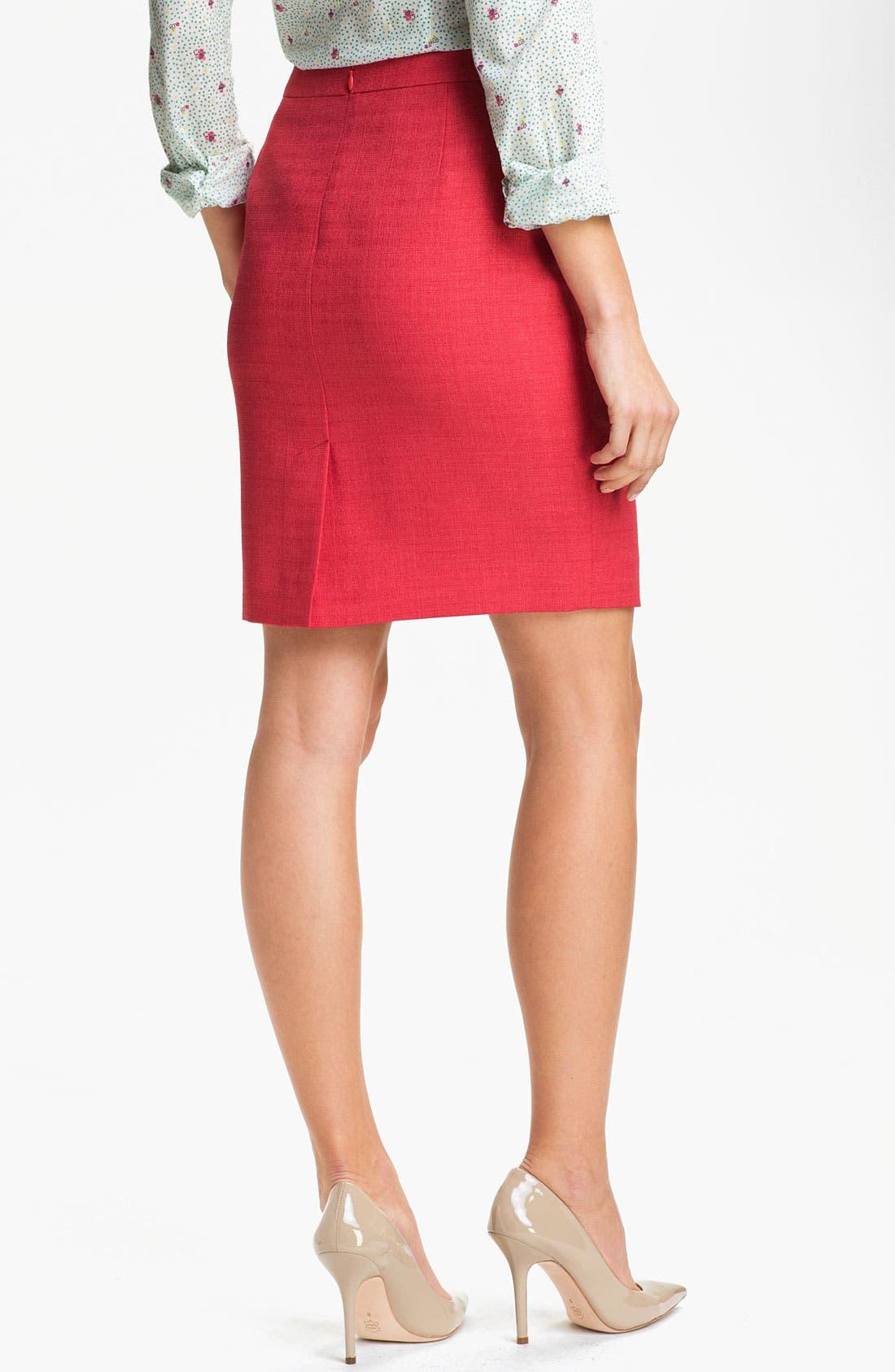 Alternate Image 2  - T Tahari Skirt