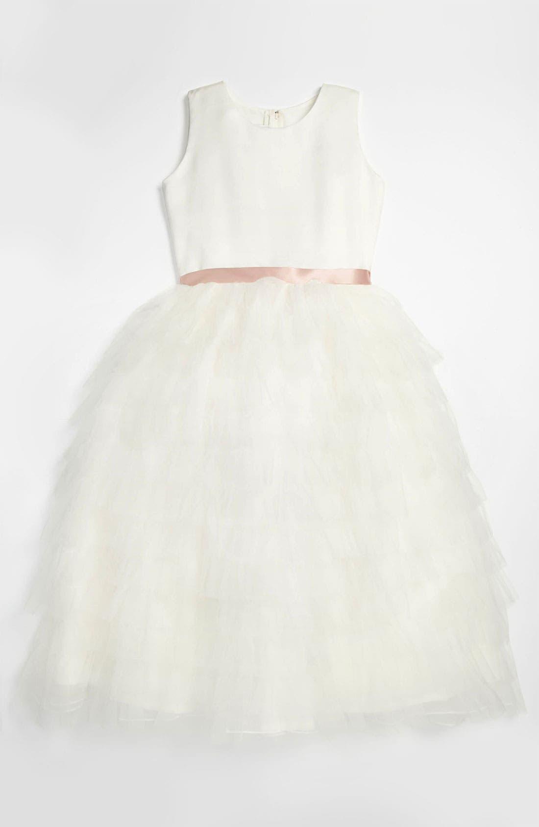 Alternate Image 1 Selected - Joan Calabrese for Mon Cheri 'Cupcake' Dress (Little Girls & Big Girls)