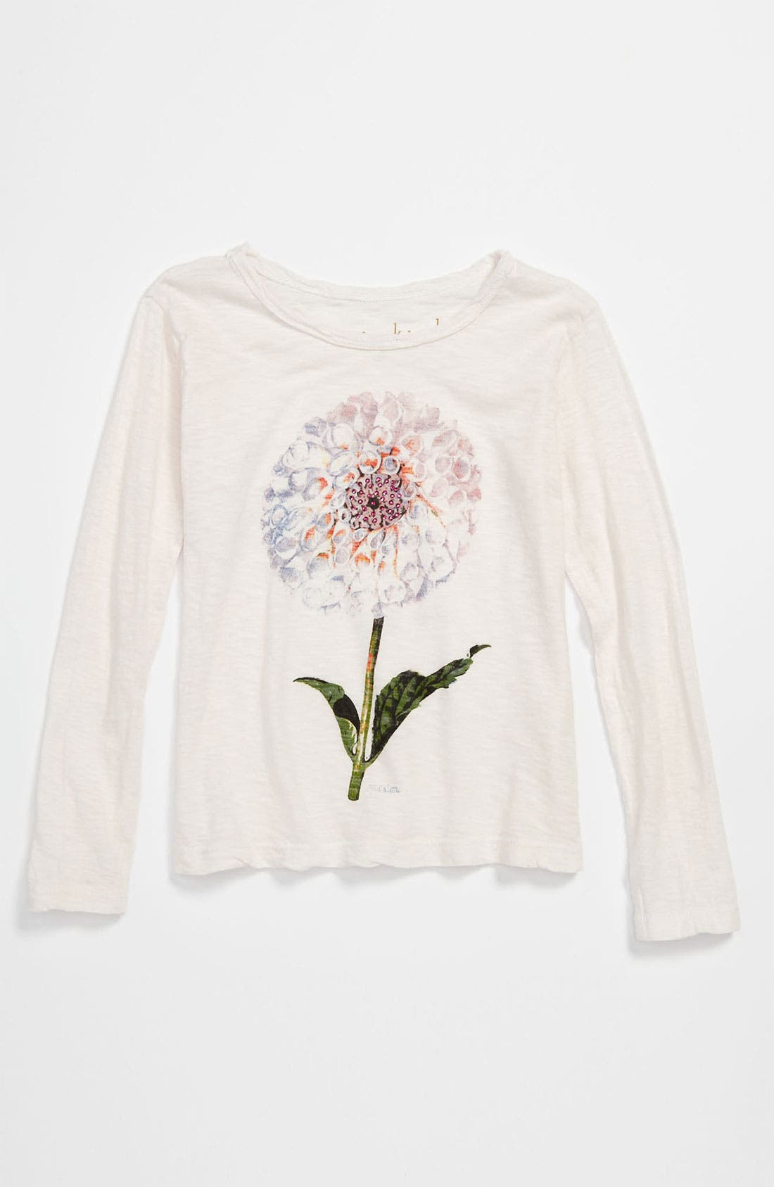 Alternate Image 1 Selected - Curio+Kind Embellished Long Sleeve Tee (Toddler)