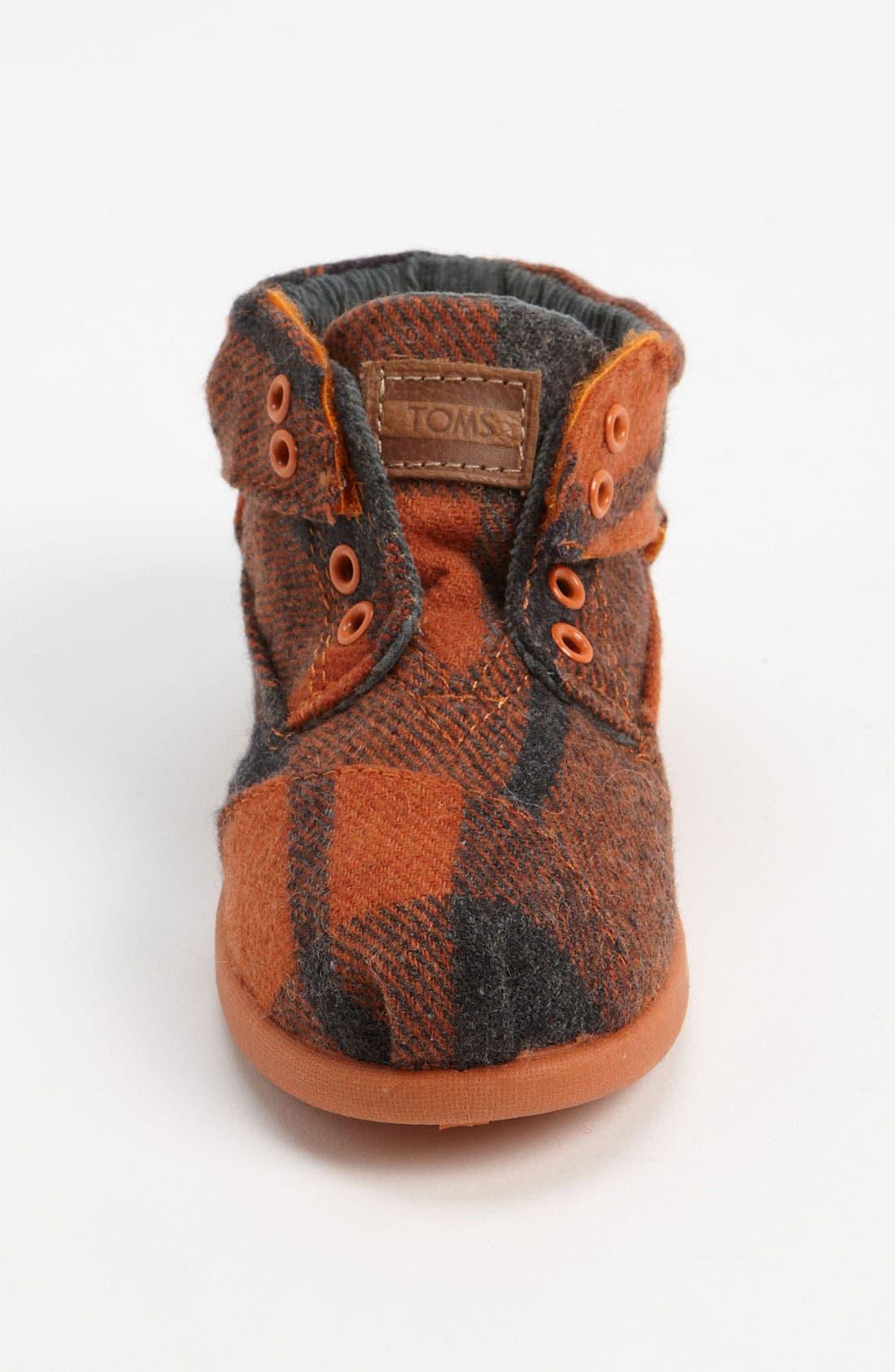 Alternate Image 3  - TOMS 'Botas' Woolen Boot (Baby, Walker & Toddler)