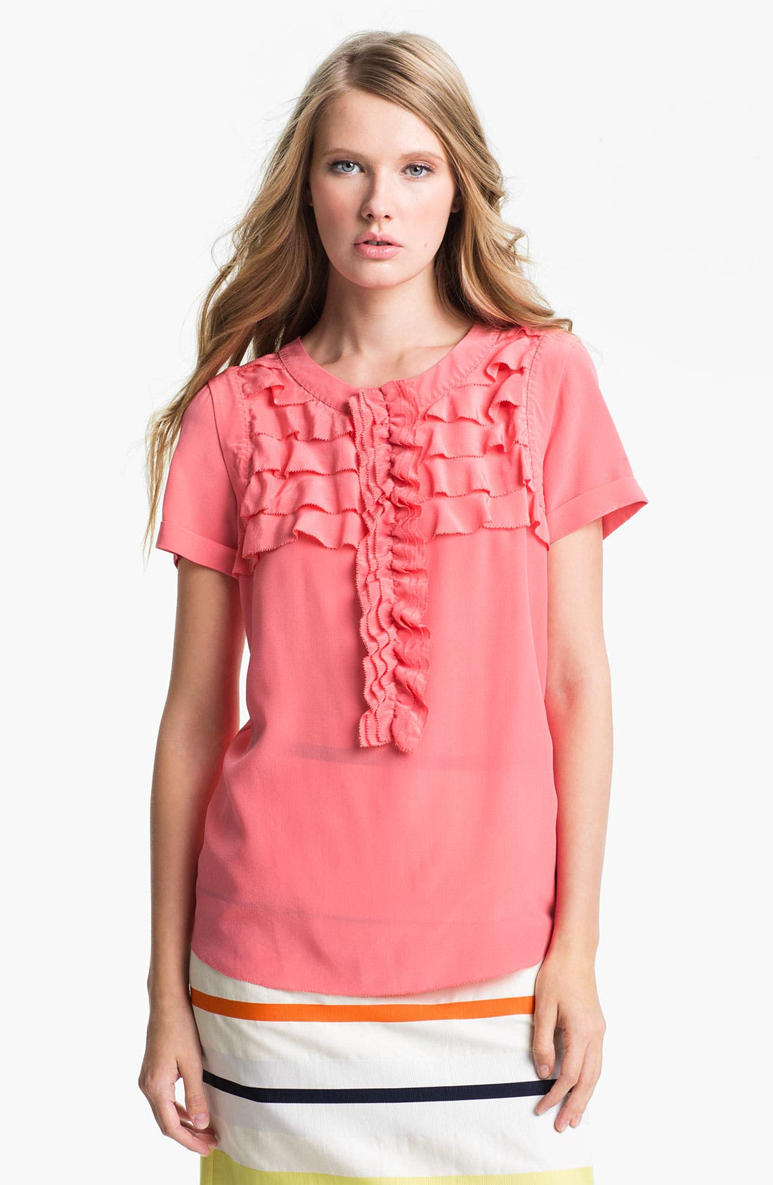 Main Image - Weekend Max Mara 'Ocarina' Silk Blouse