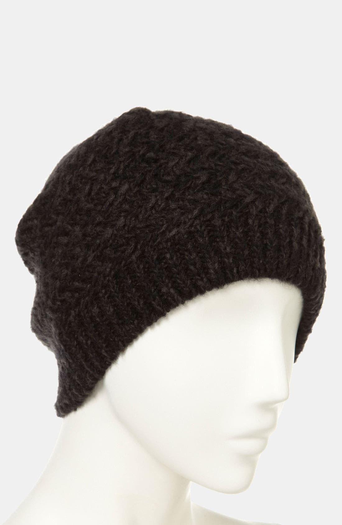 Alternate Image 2  - Topshop Two Tone Zigzag Beanie
