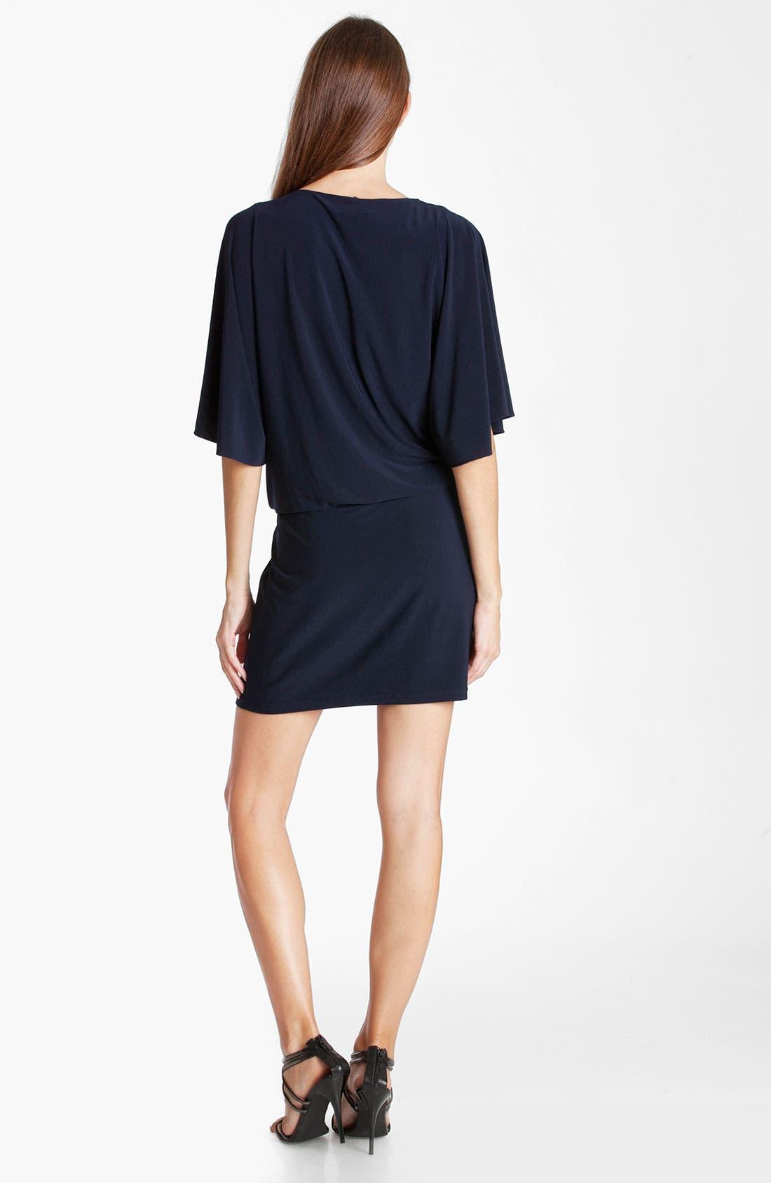 Alternate Image 2  - JS Boutique Cowl Neck Blouson Jersey Dress