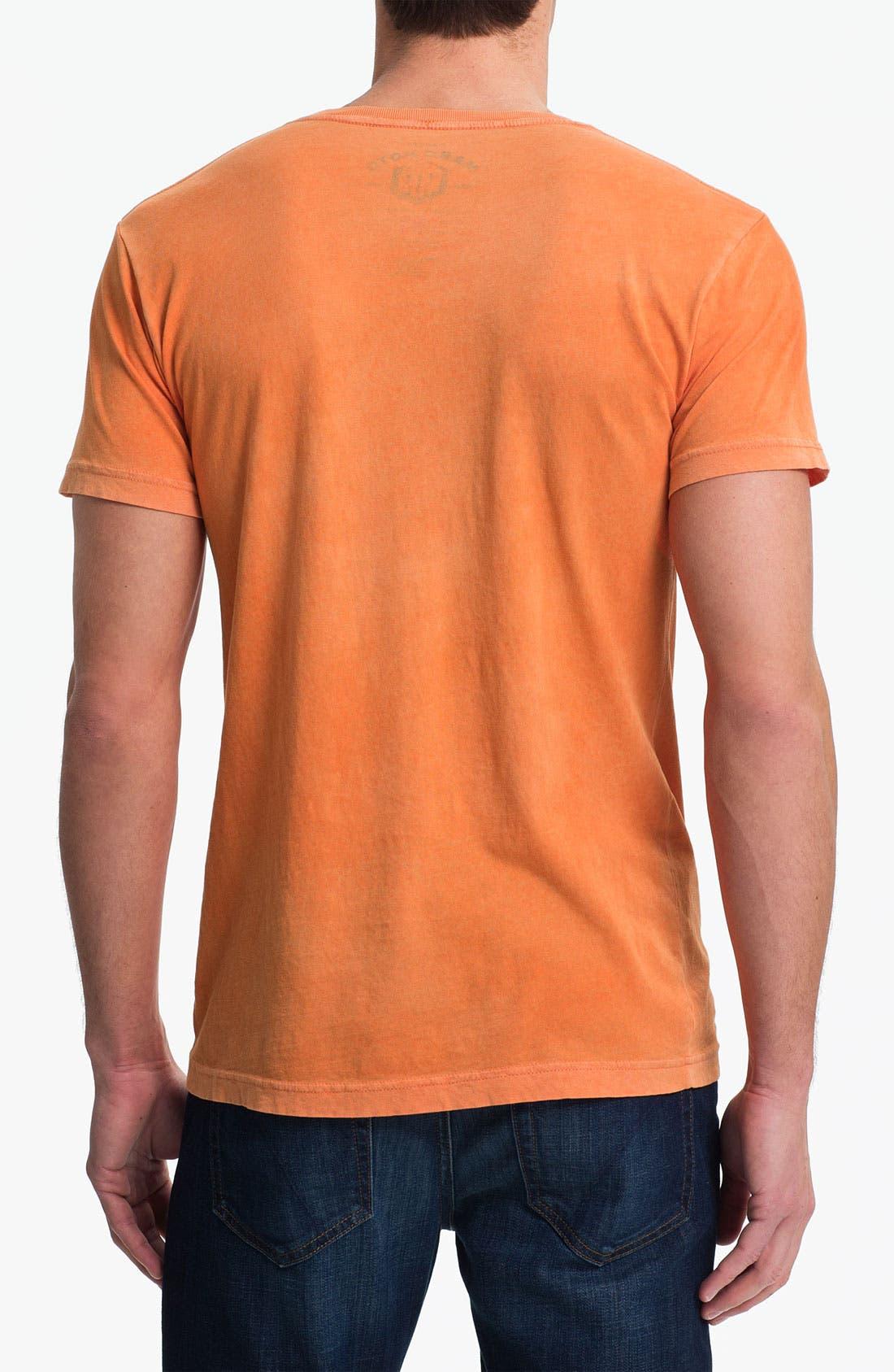 Alternate Image 2  - Denim & Leathers by Andrew Marc 'Michigan Motors' Graphic T-Shirt