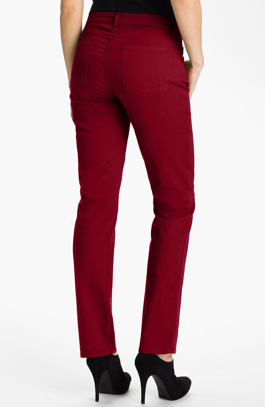 Alternate Image 2  - Eileen Fisher Colored Denim Jeans (Online Exclusive)