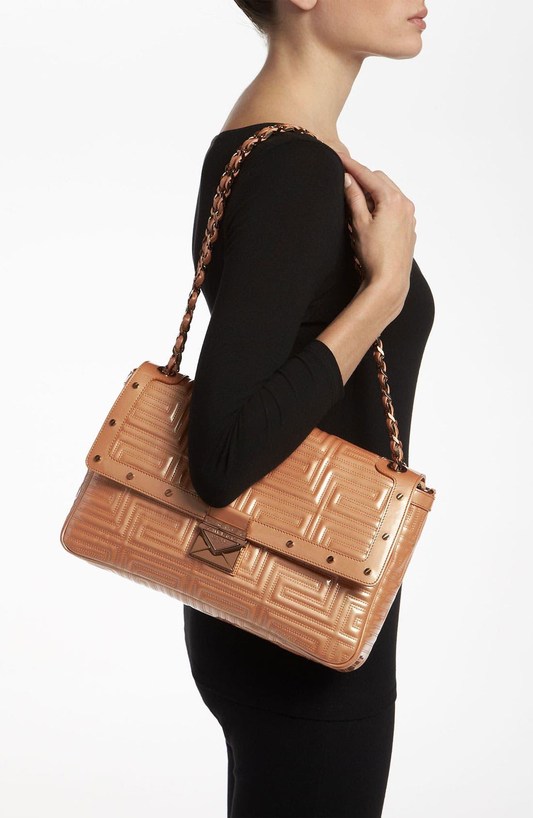 Alternate Image 2  - Versace 'Large' Patent Leather Shoulder Bag
