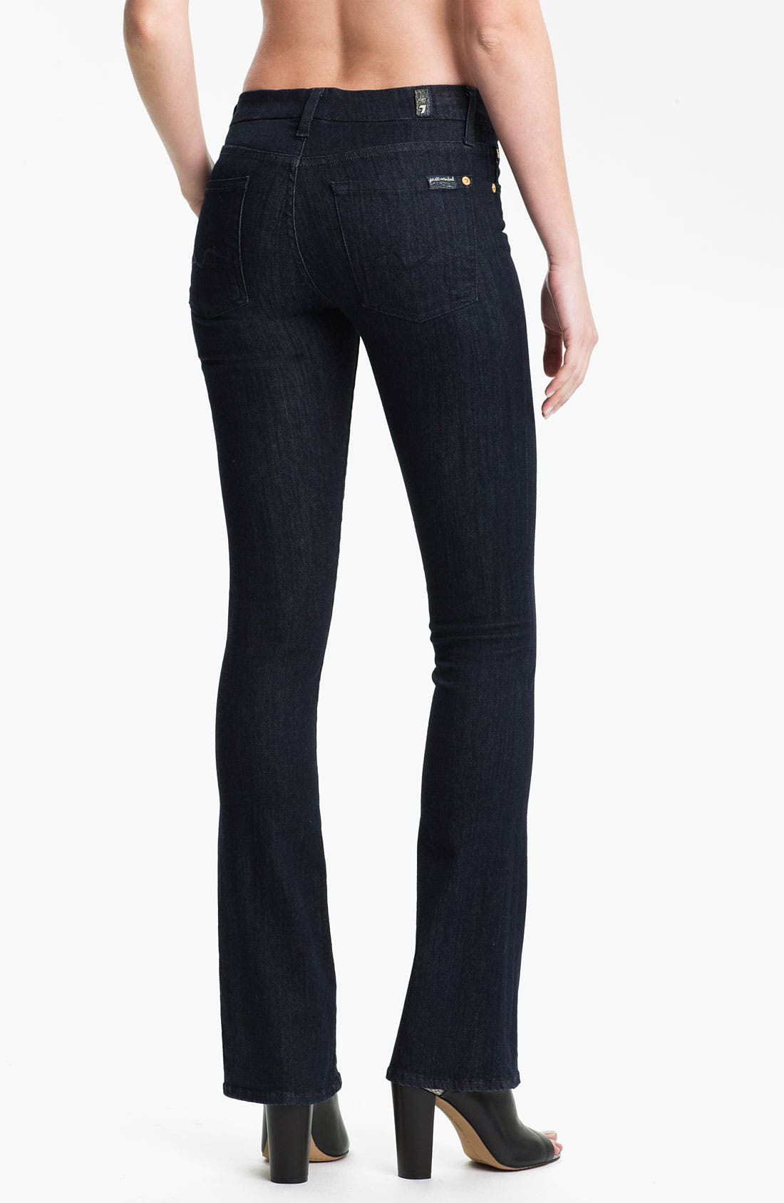 Alternate Image 2  - 7 For All Mankind® 'Kimmie' Bootcut Jeans (Slim Illusion Rinse)