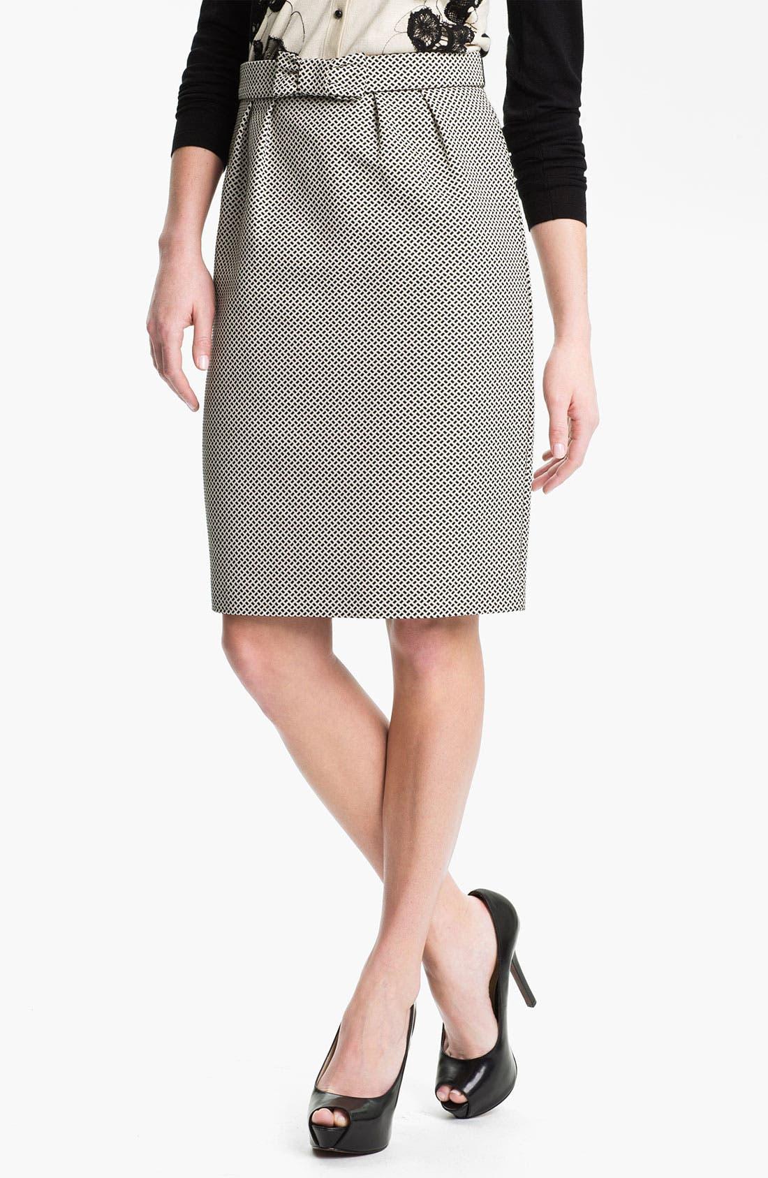 Main Image - Weekend Max Mara 'Cesira' Bow Front Skirt