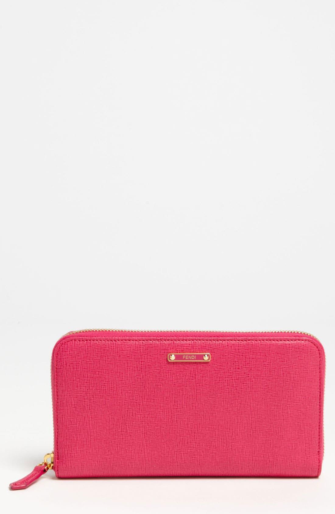 Main Image - Fendi 'Crayons' Leather Wallet