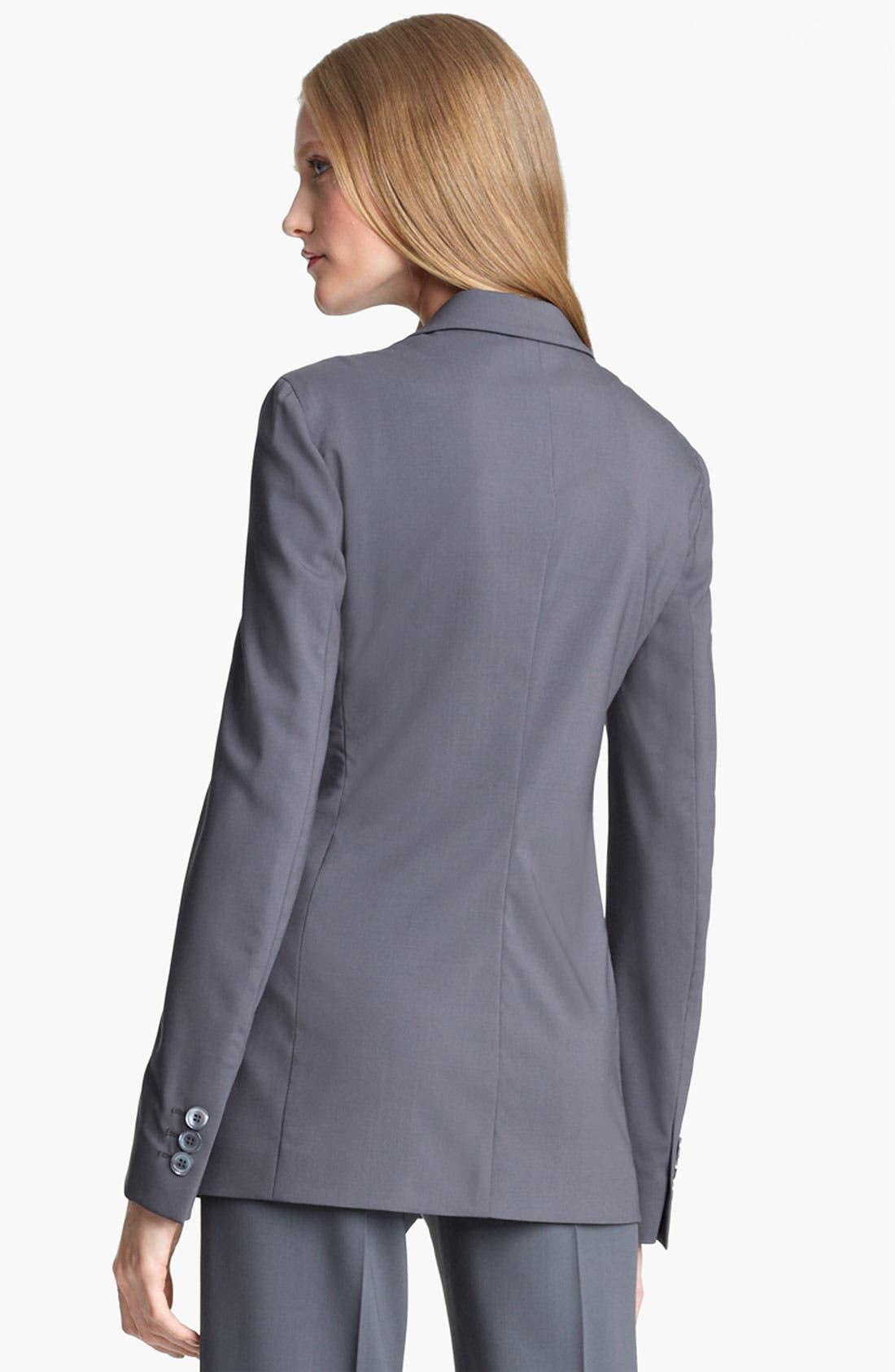 Alternate Image 3  - Armani Collezioni Stretch Wool Jacket