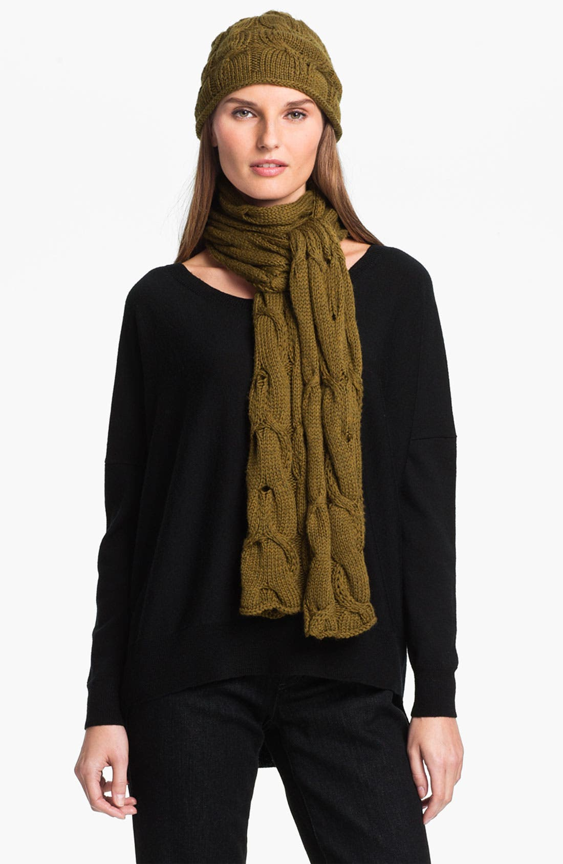 Alternate Image 1 Selected - Eileen Fisher Merino Cap (Online Exclusive)
