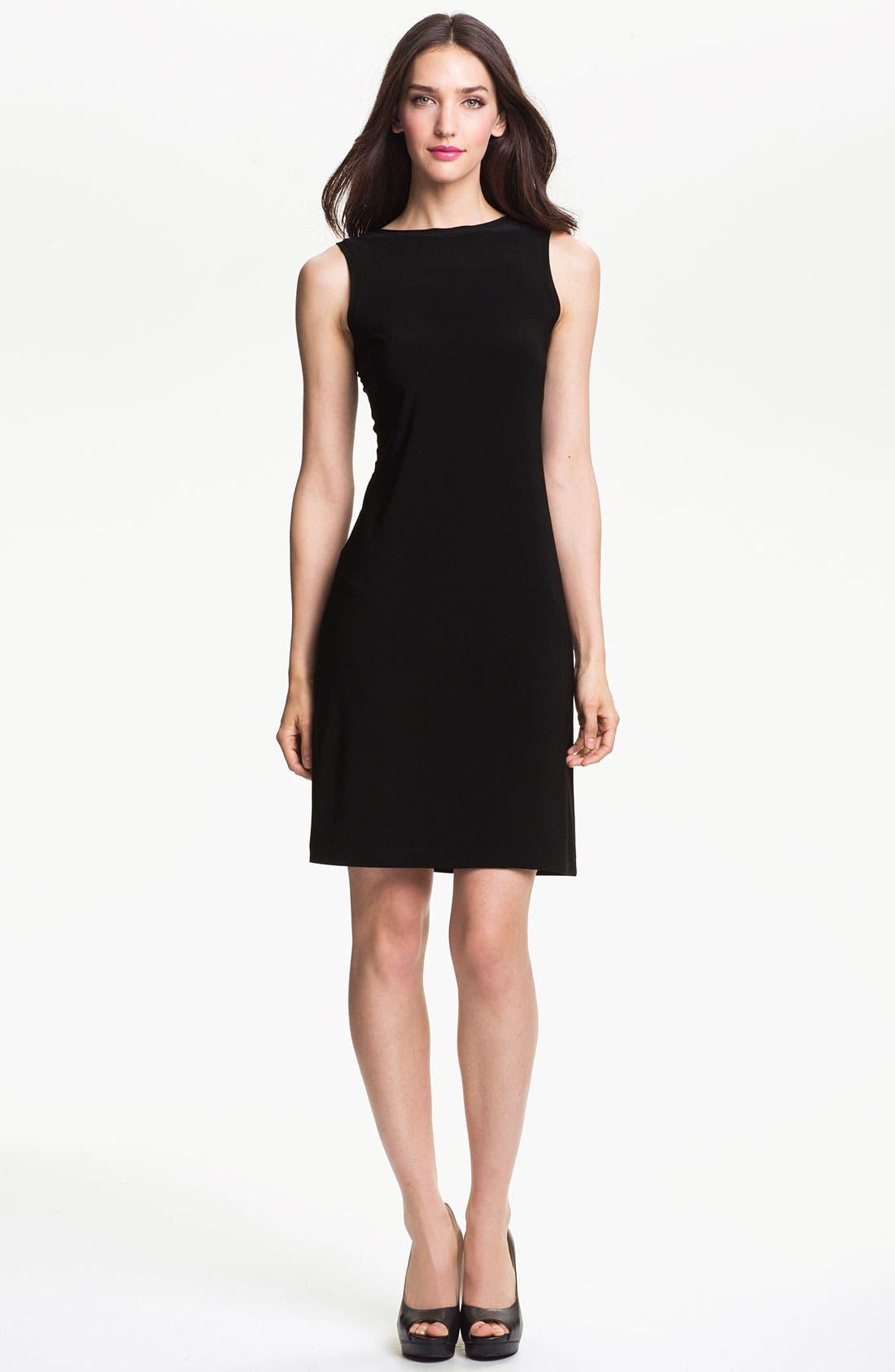 Alternate Image 1 Selected - KAMALIKULTURE V-Back Sheath Dress
