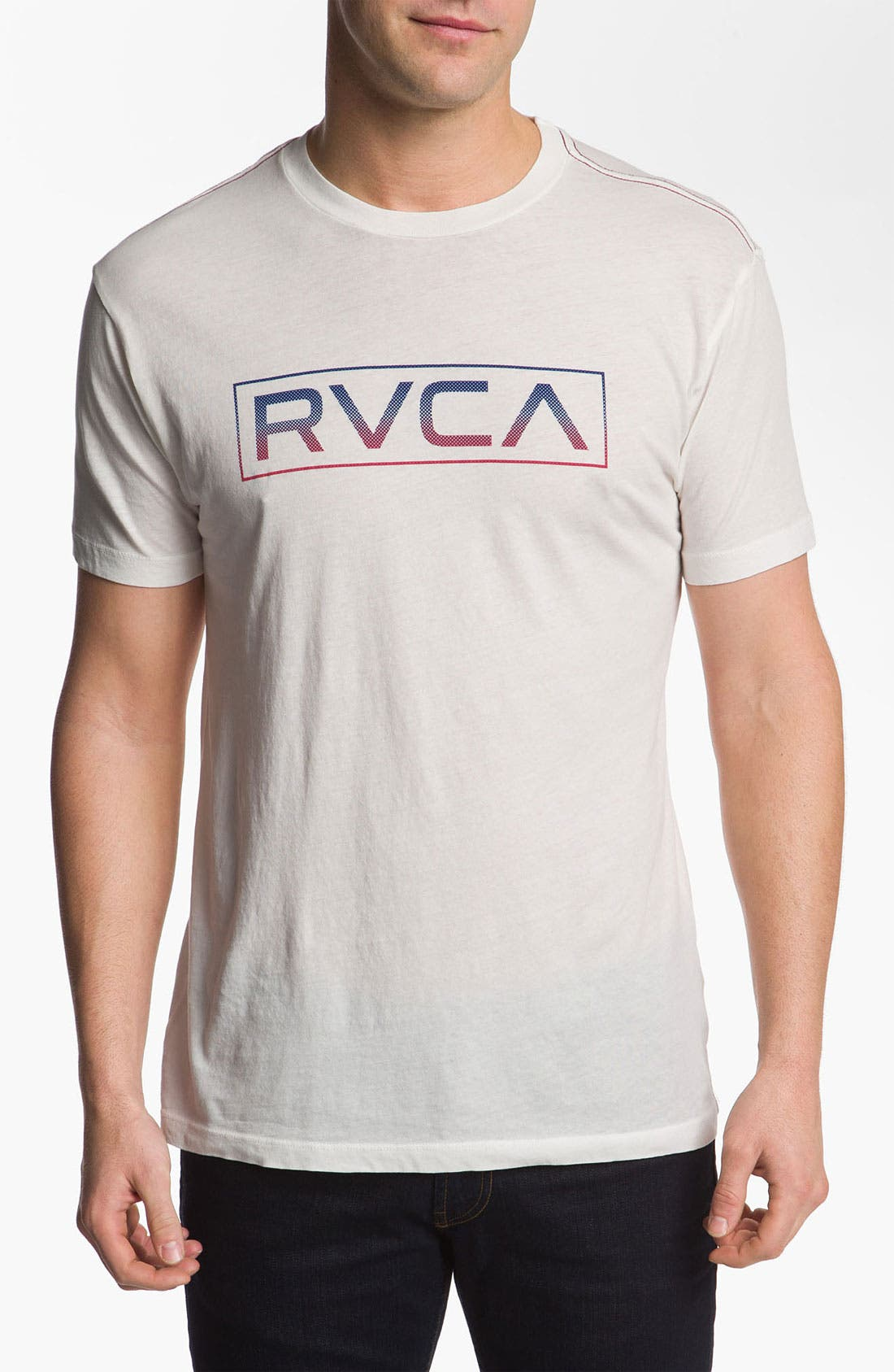 Alternate Image 1 Selected - RVCA 'Charged VA' Vintage Wash T-Shirt