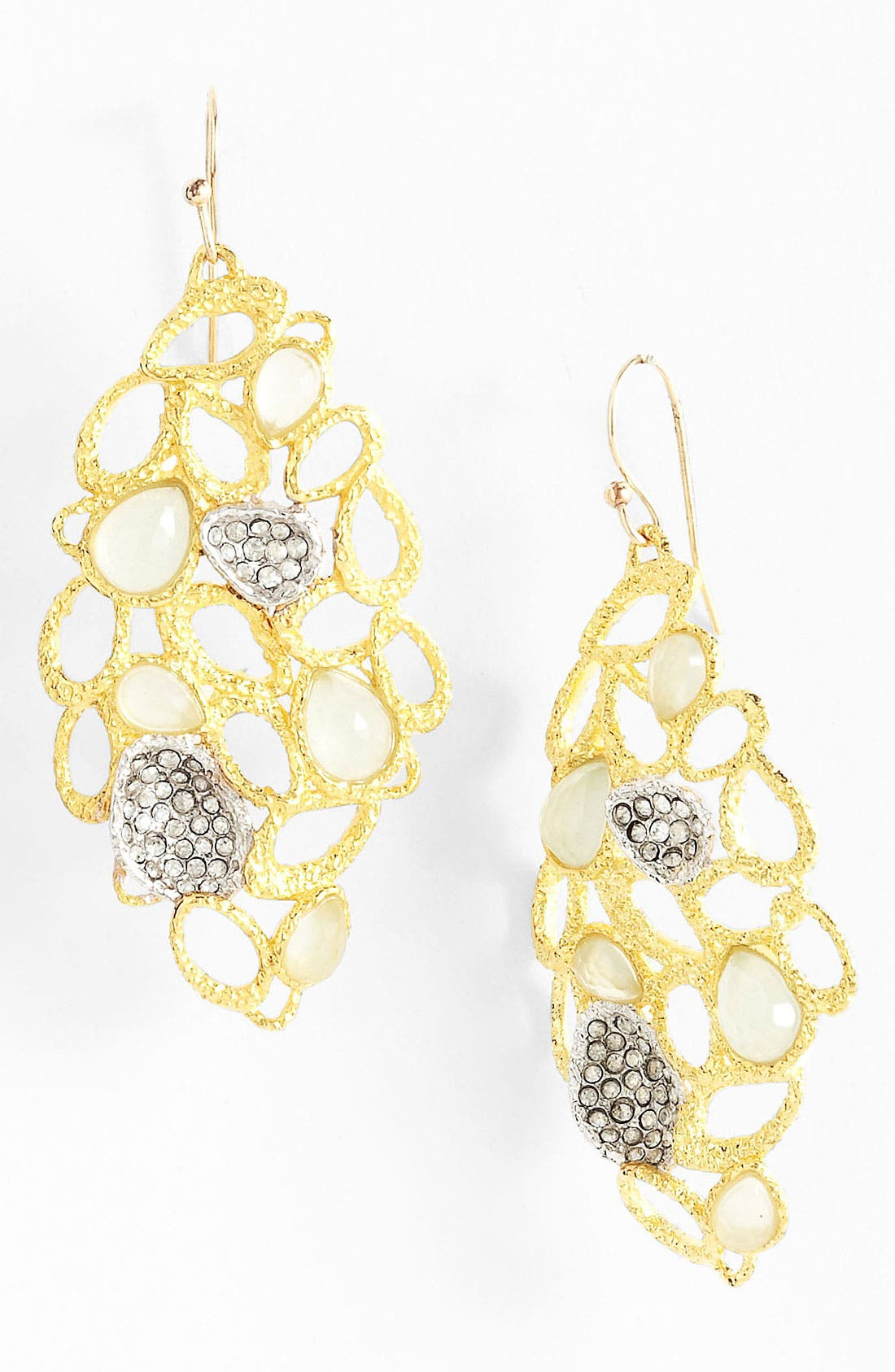 Alternate Image 1 Selected - Alexis Bittar 'Elements - Siyabona' Pavé Accent Drop Earrings
