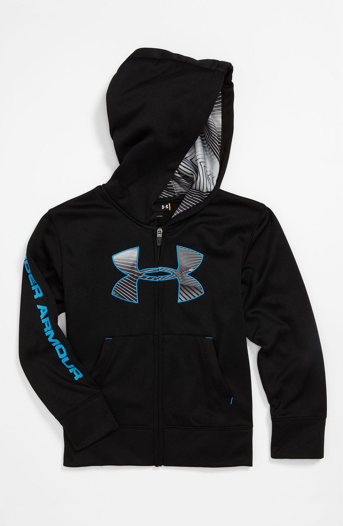 Main Image - Under Armour Ultra Light Hoodie (Little Boys)