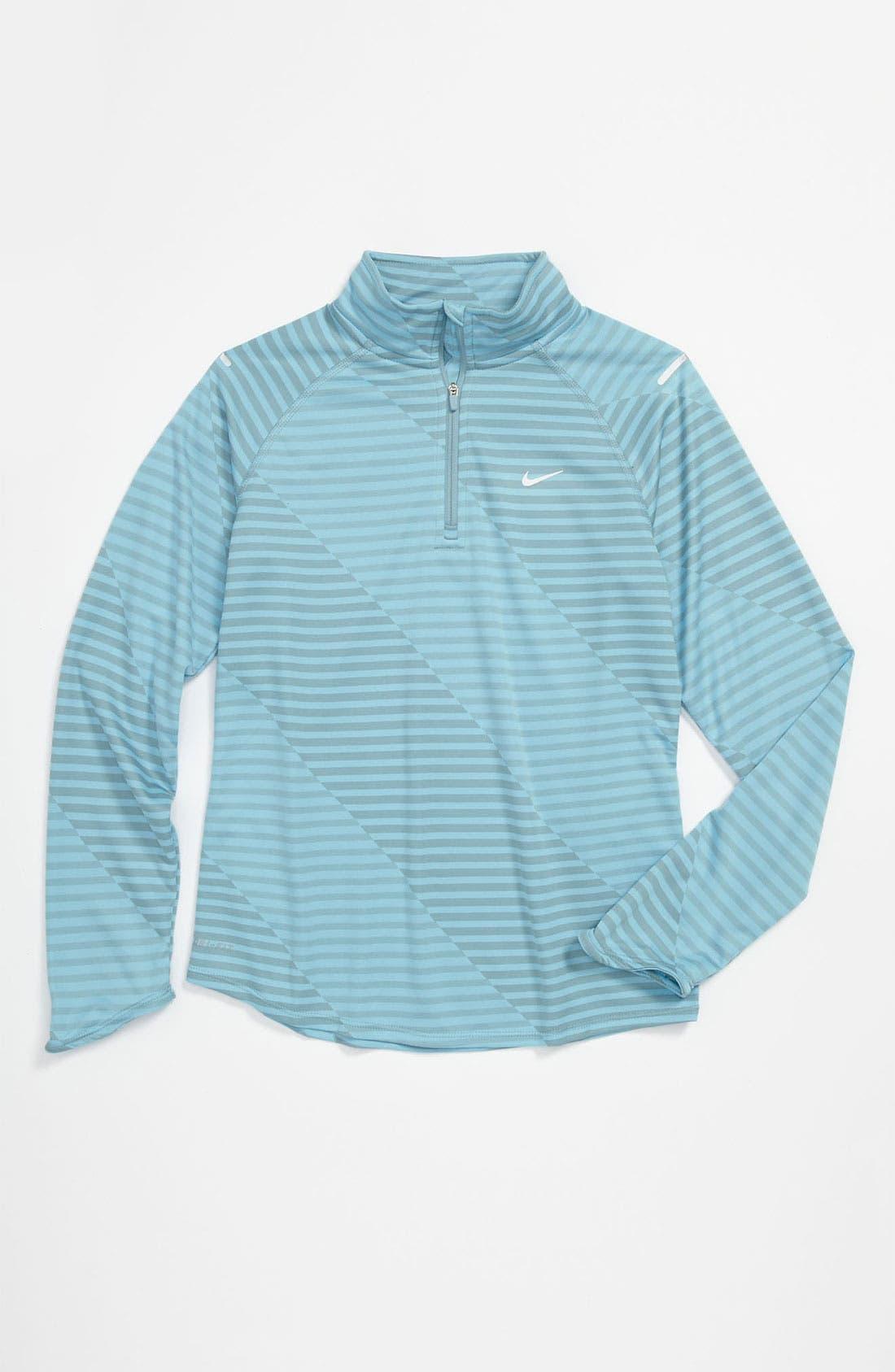 Alternate Image 1 Selected - Nike 'Jacquard Element' Jacket (Big Girls)