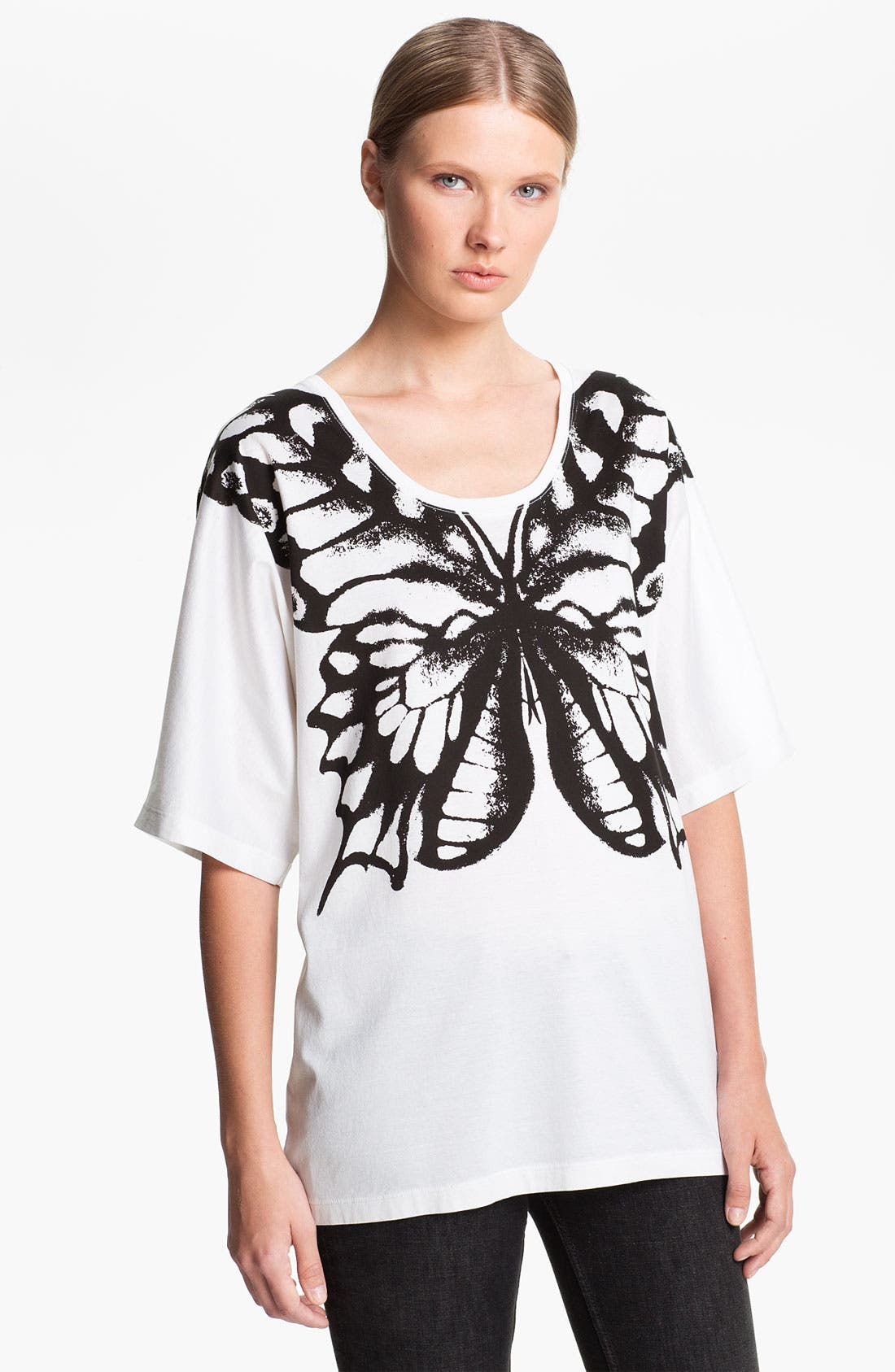 Alternate Image 1 Selected - McQ by Alexander McQueen Butterfly Print Tee