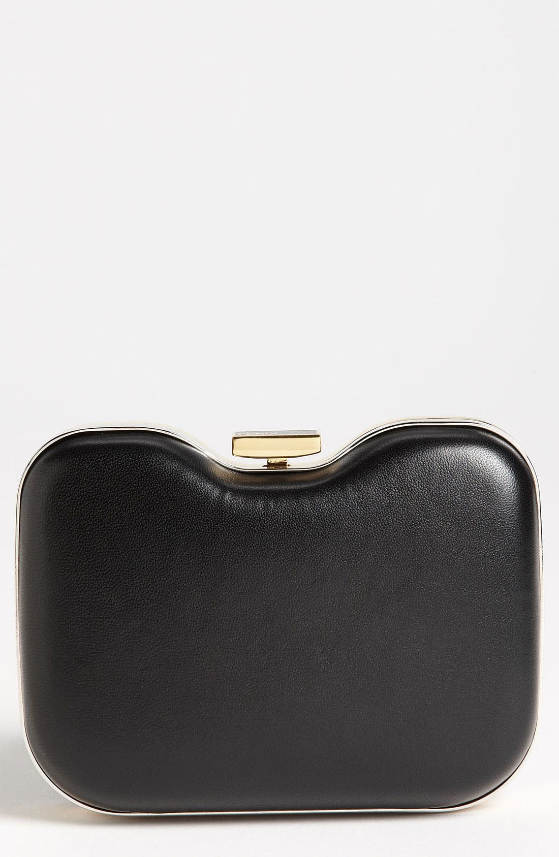 Main Image - Fendi 'Giano' Leather Clutch