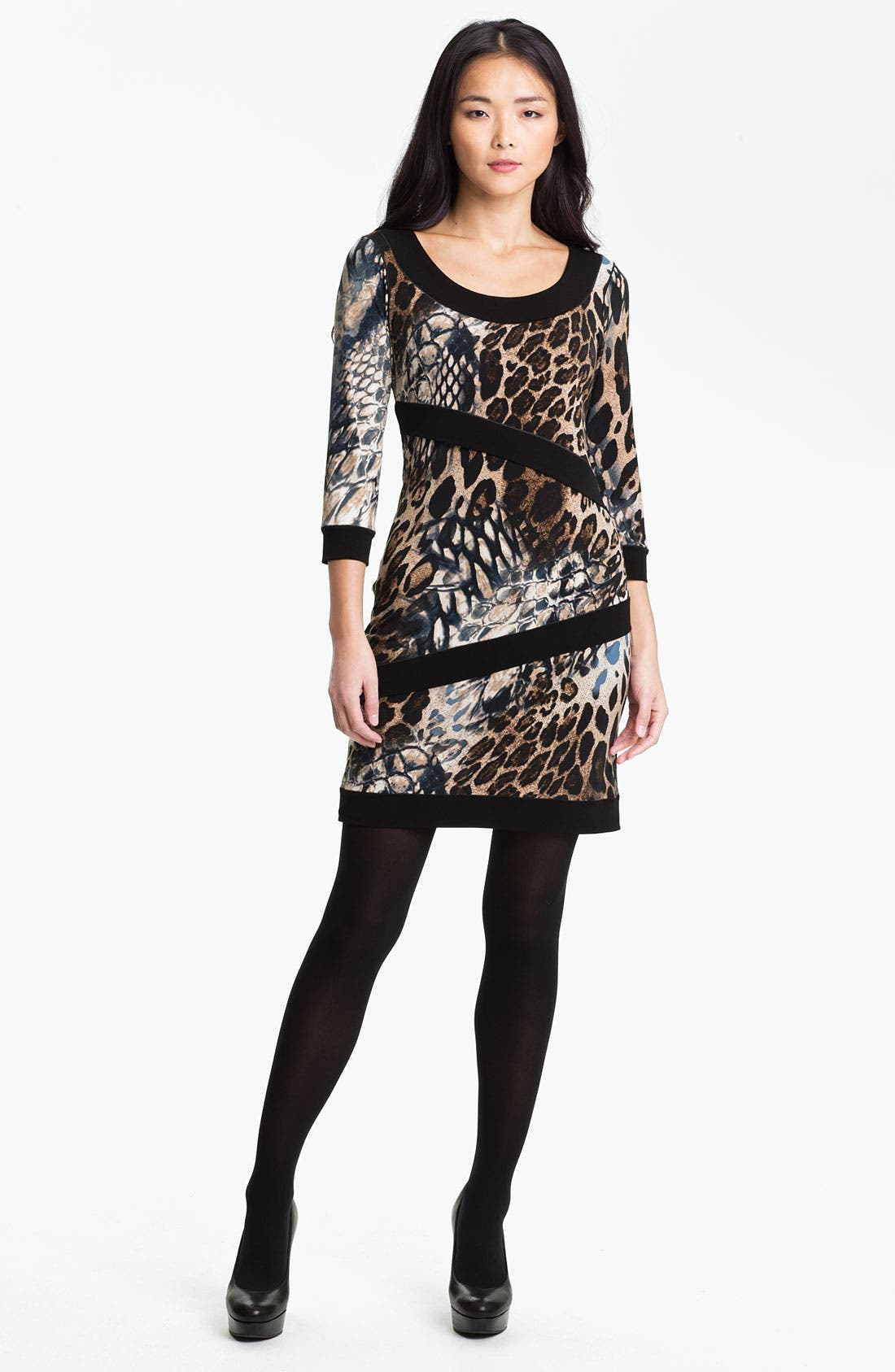 Alternate Image 1 Selected - Eva Varro Print Front Dress (Online Exclusive)