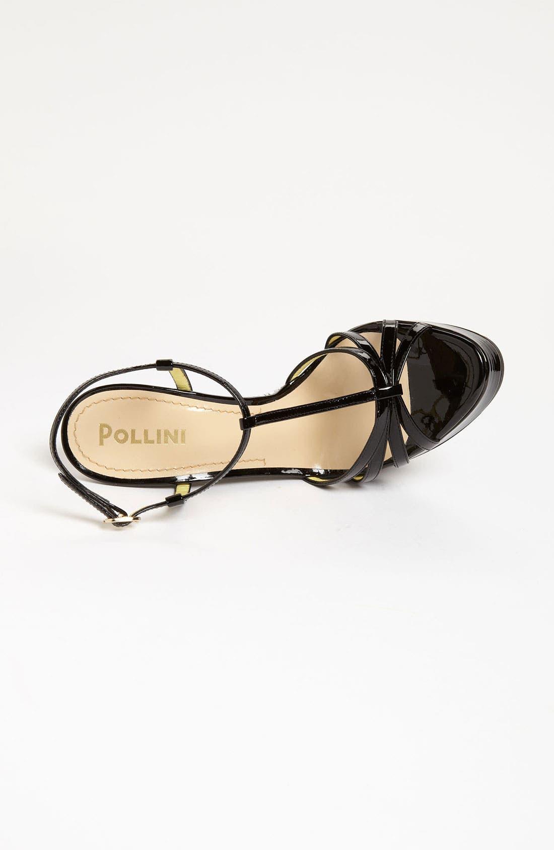 Alternate Image 3  - Pollini Woven Wedge Sandal