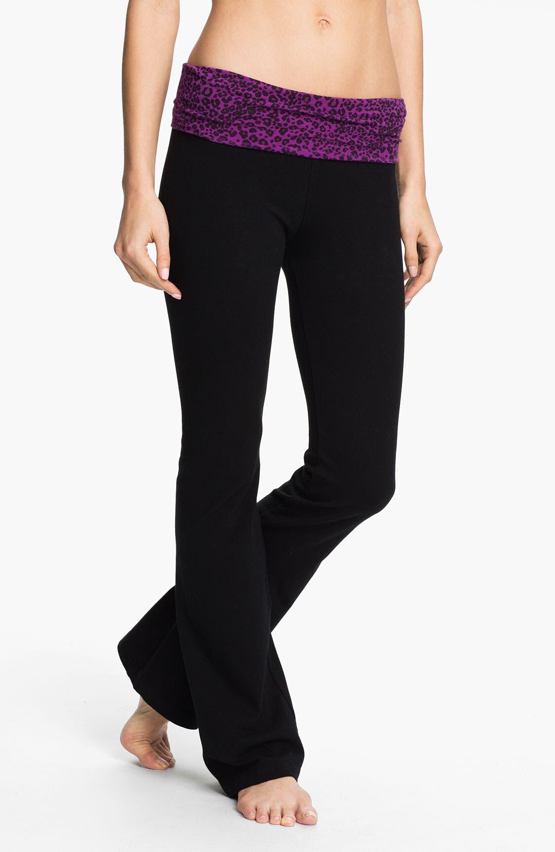 Main Image - Hard Tail Print Roll Waist Pants