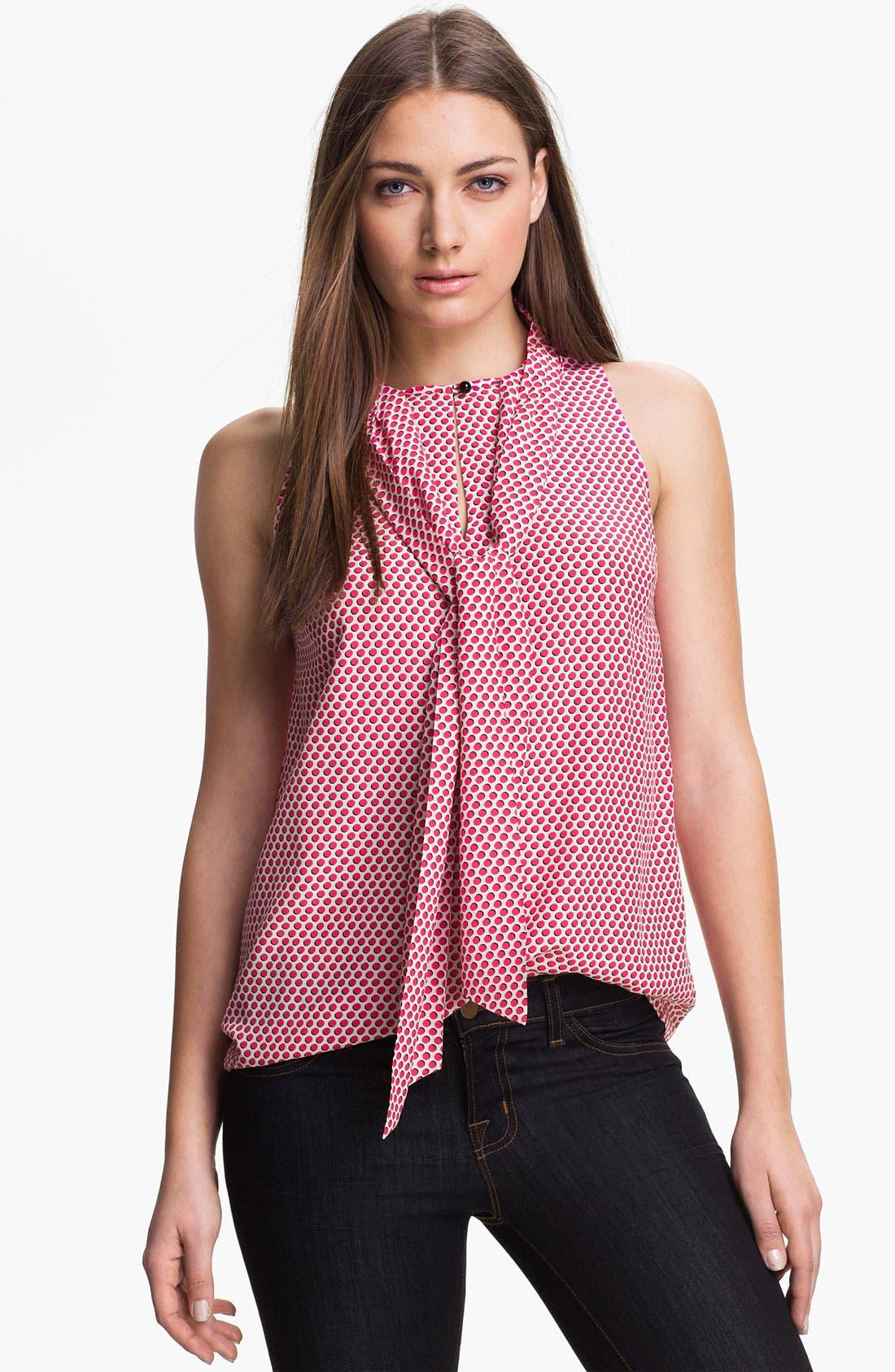 Main Image - kate spade new york 'lillian' silk blend top