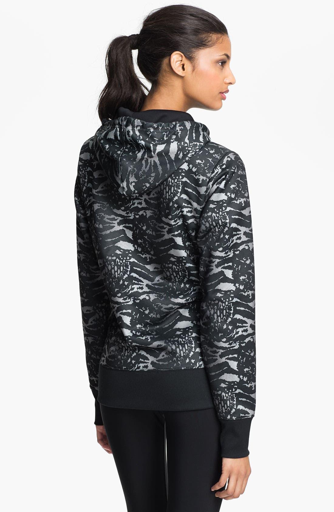 Alternate Image 2  - Under Armour 'Armour Fleece®' Graphic Zip Up Hoodie