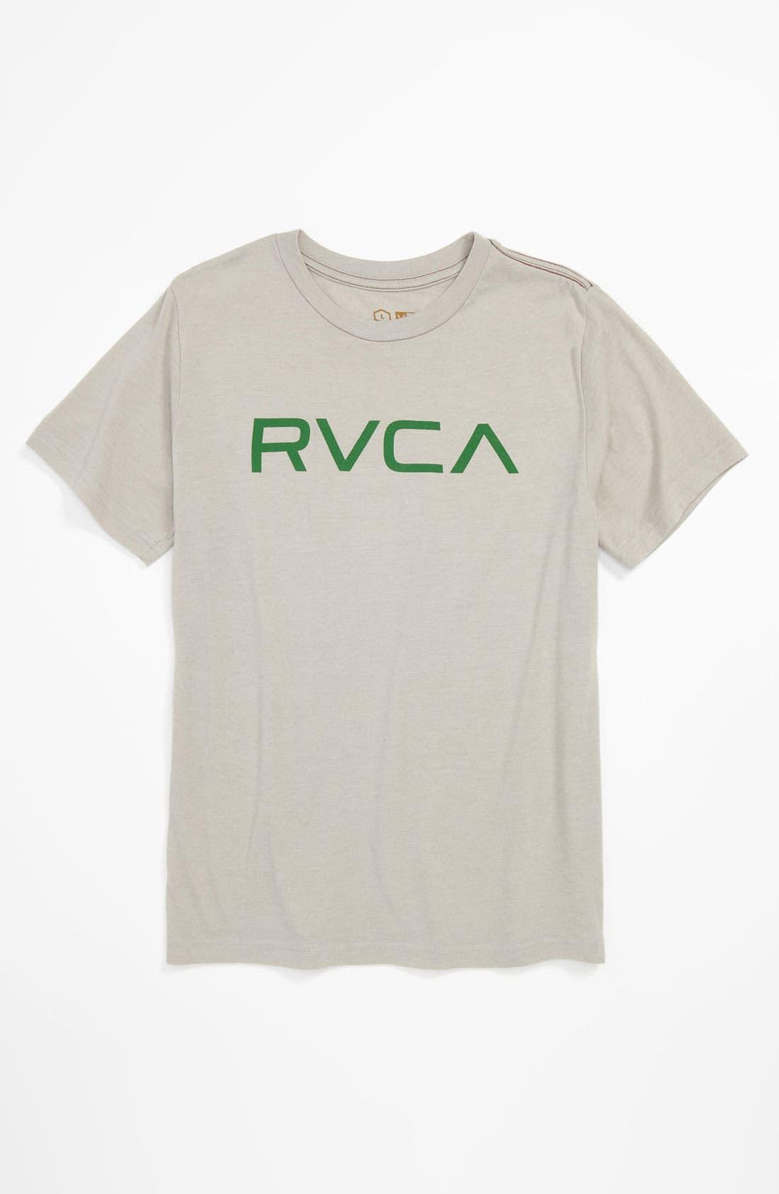 Alternate Image 1 Selected - RVCA 'Big RVCA' T-Shirt (Big Boys)