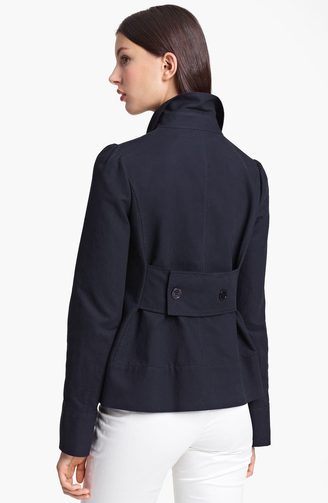 Alternate Image 2  - Armani Collezioni Cotton Jacket