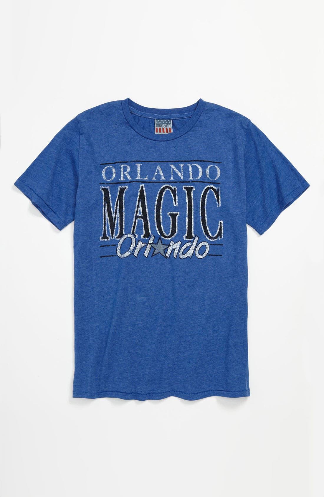 Alternate Image 1 Selected - Junk Food 'Orlando Magic' T-Shirt (Little Boys & Big Boys)