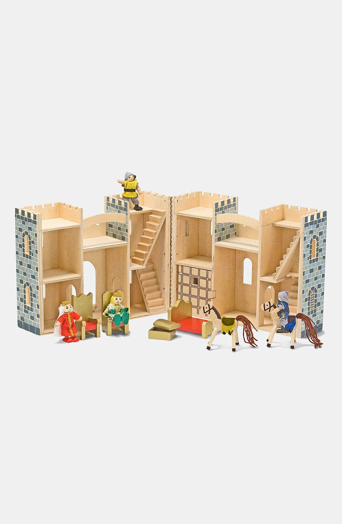Alternate Image 2  - Melissa & Doug Fold & Go Mini Castle