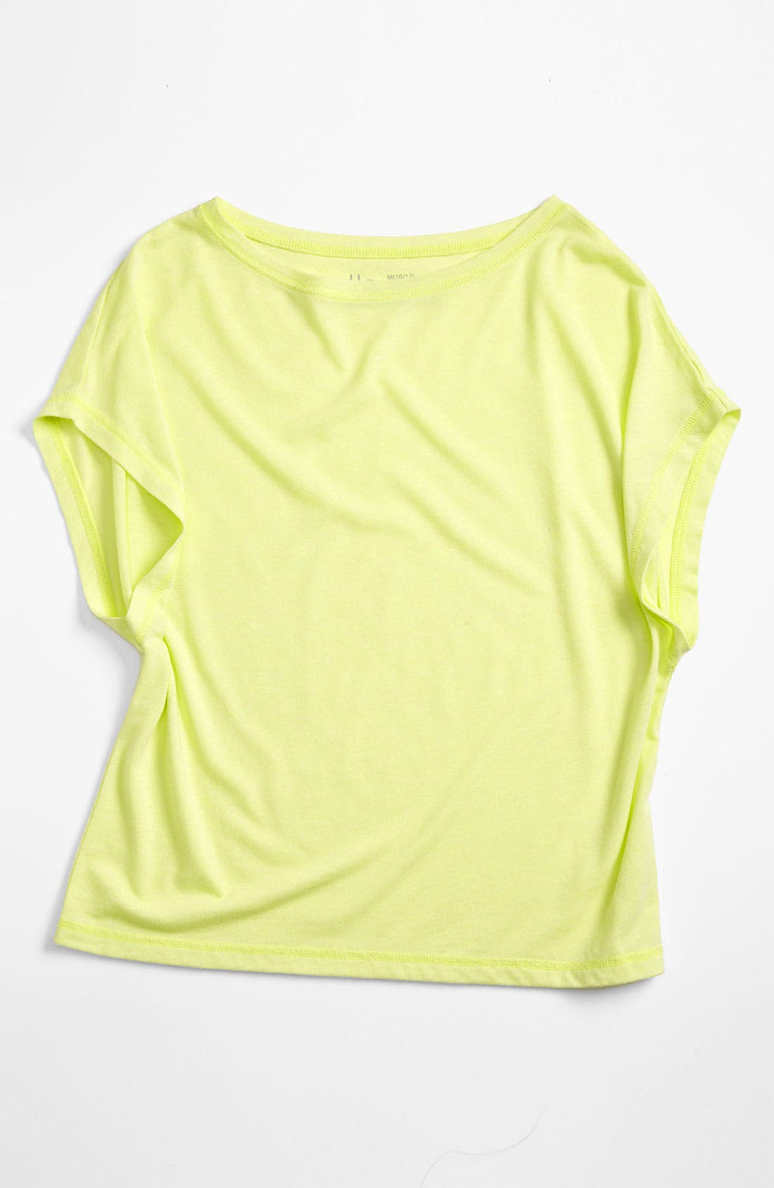 Alternate Image 1 Selected - Zella Girl 'Breezy' Knit Tee (Little Girls & Big Girls)