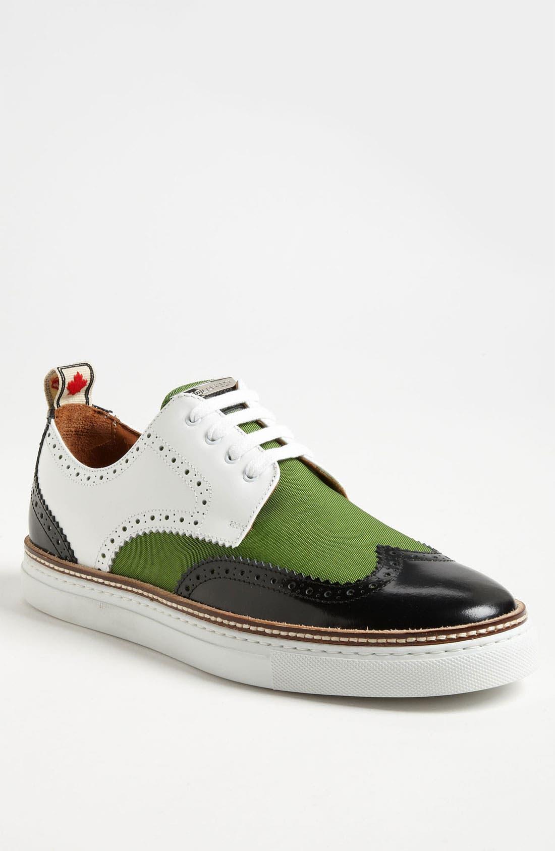 Alternate Image 1 Selected - Dsquared2 '410' Wingtip Sneaker