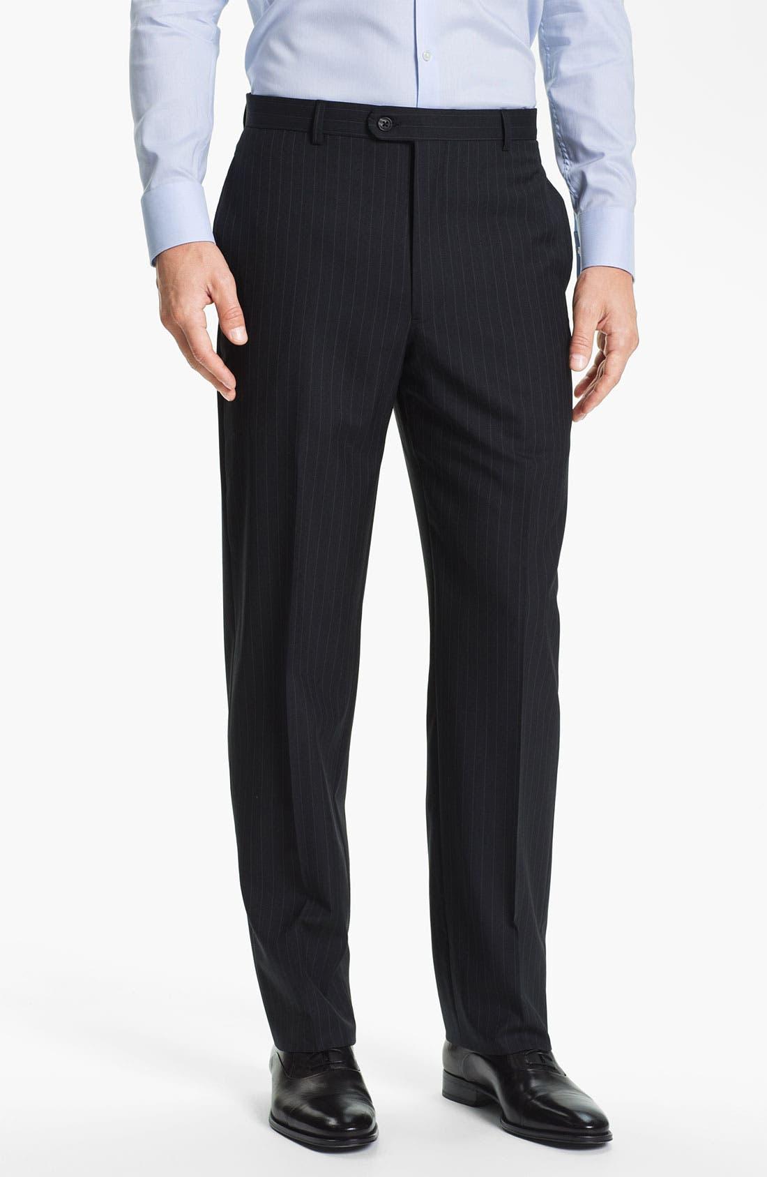 Alternate Image 4  - Joseph Abboud Stripe Suit