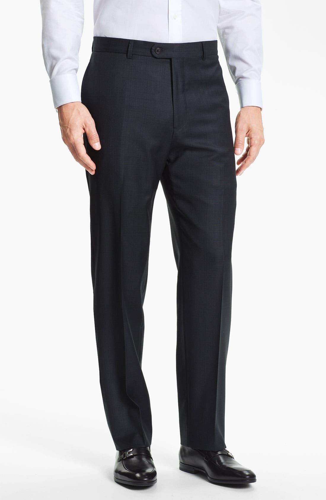 Alternate Image 4  - Joseph Abboud Trim Fit Three Piece Suit