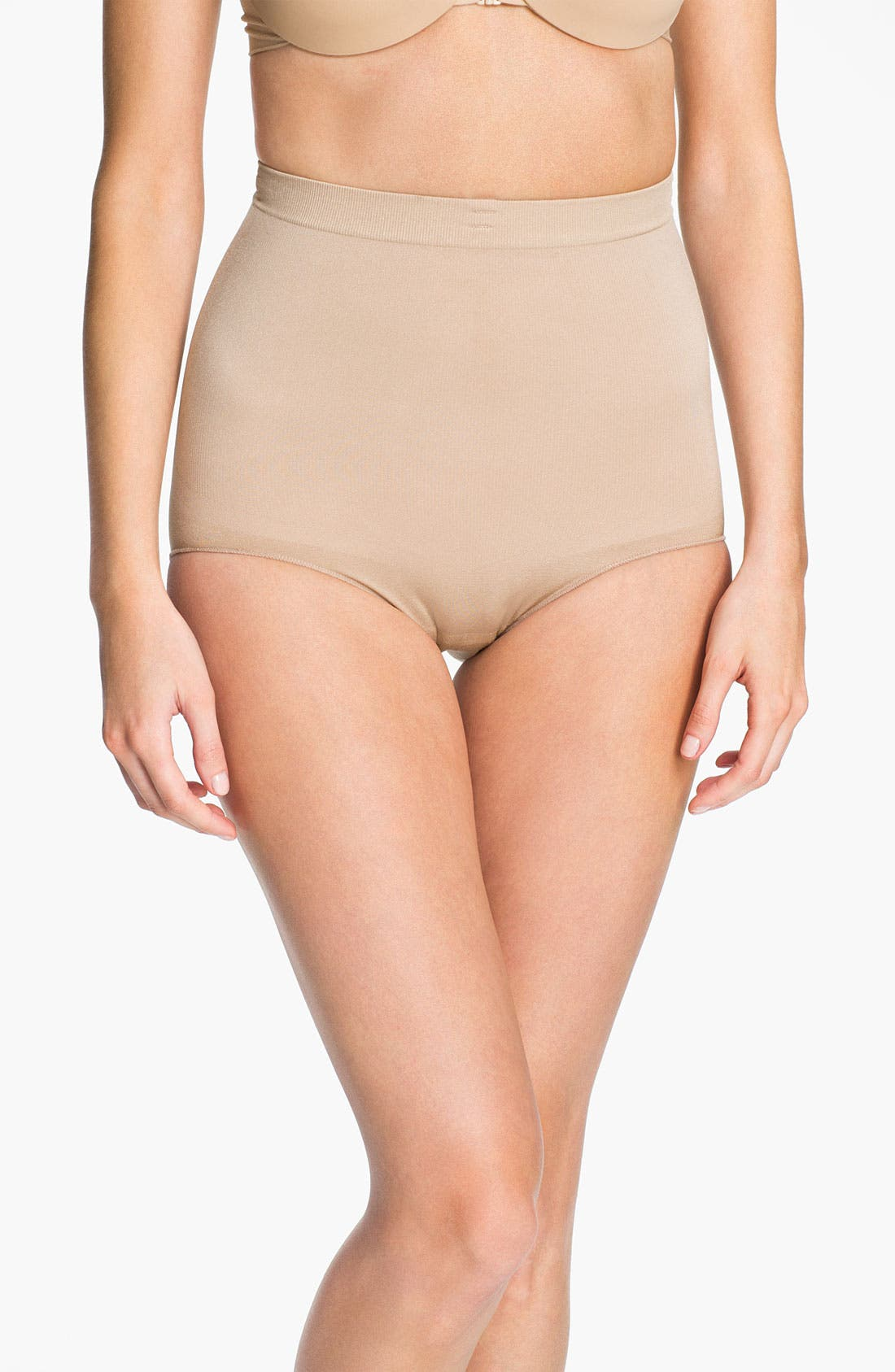 Alternate Image 1 Selected - SPANX® 'Slim Cognito' Bodysuit Shaper