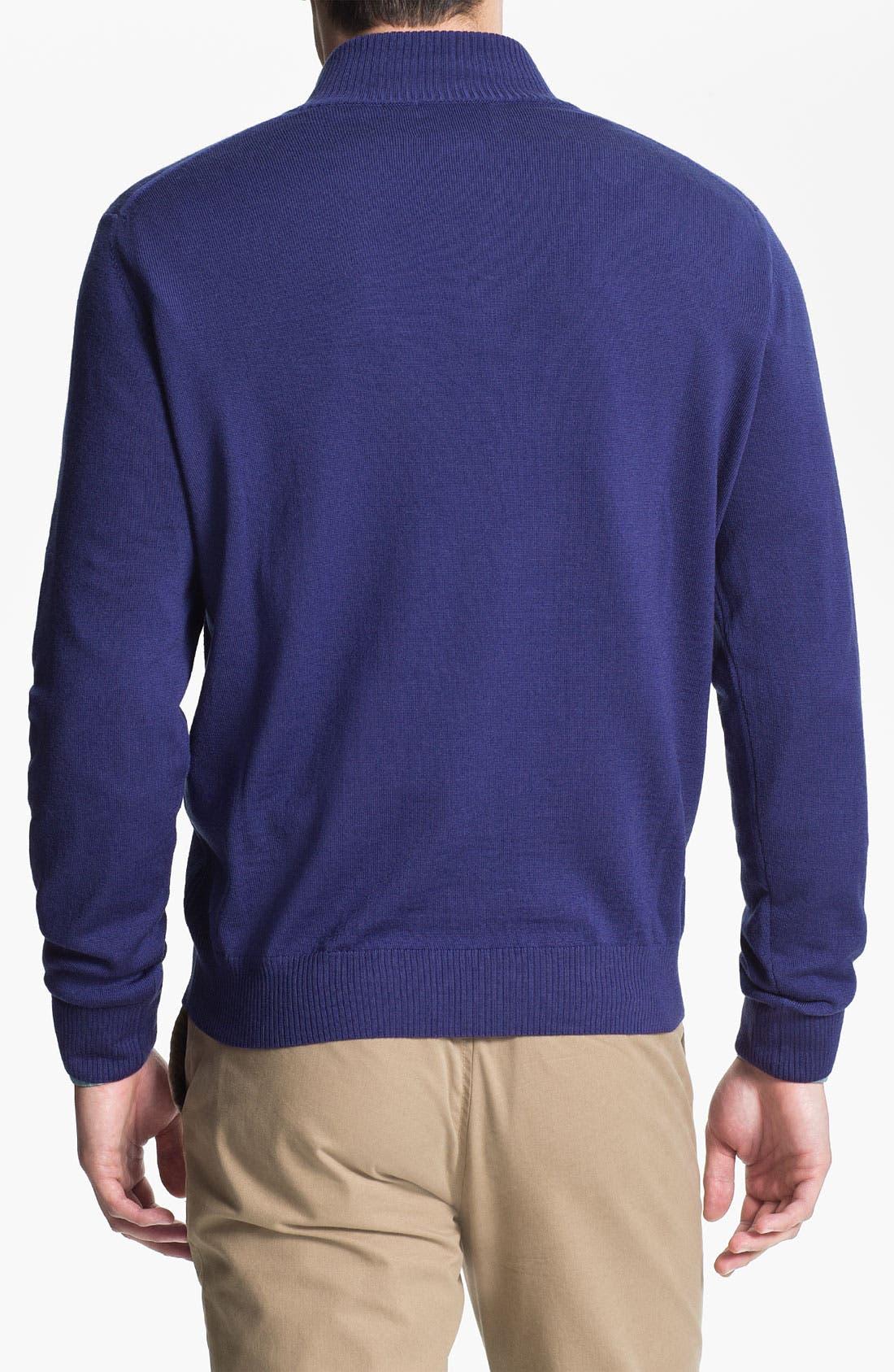 Alternate Image 2  - Thomas Dean 'Texas Christian University' Wool Sweater