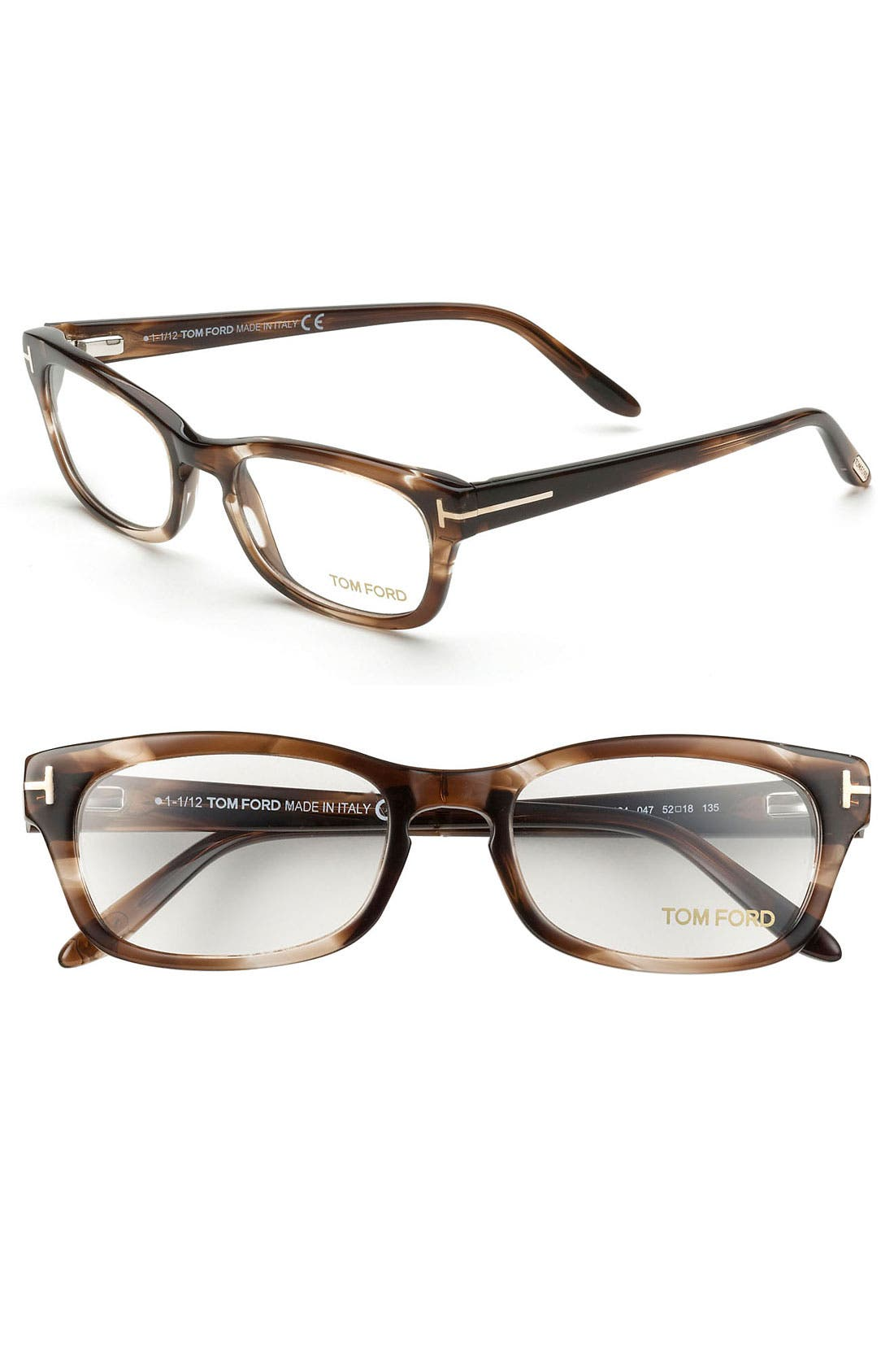 Main Image - Tom Ford 52mm Optical Glasses (Online Only)