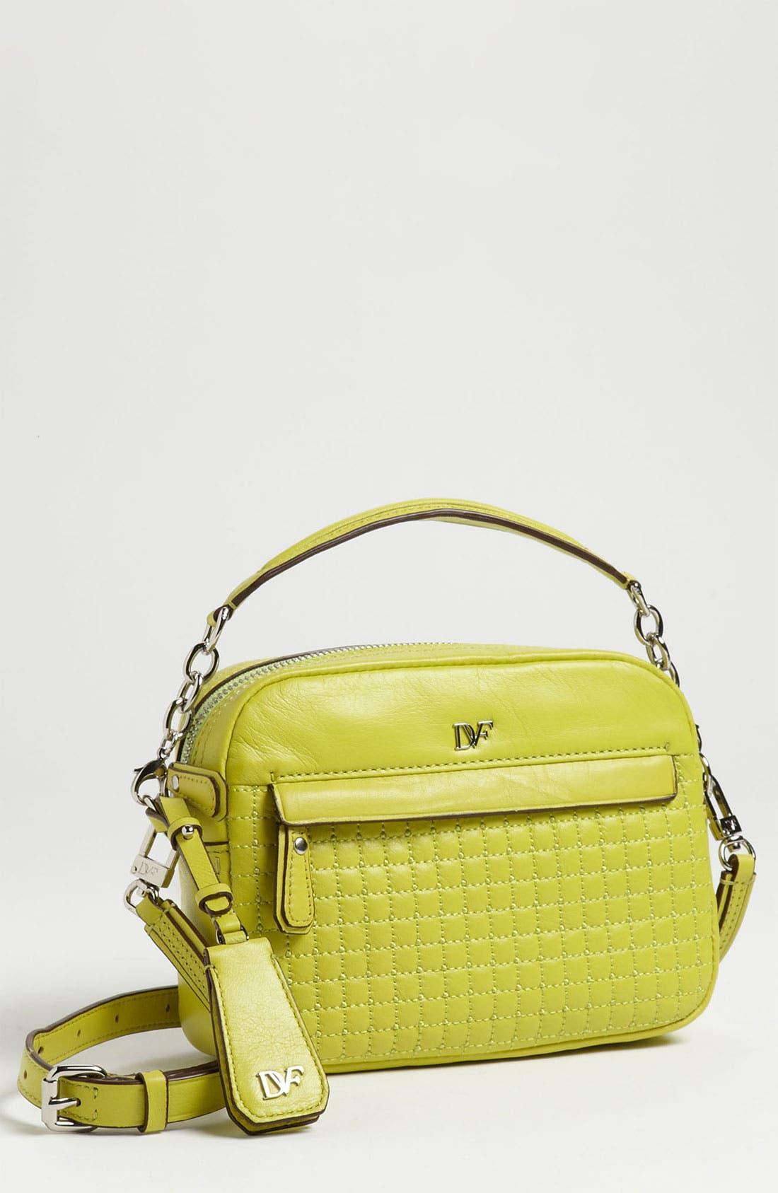 Main Image - Diane von Furstenberg 'Milo - Mini' Quilted Crossbody Bag