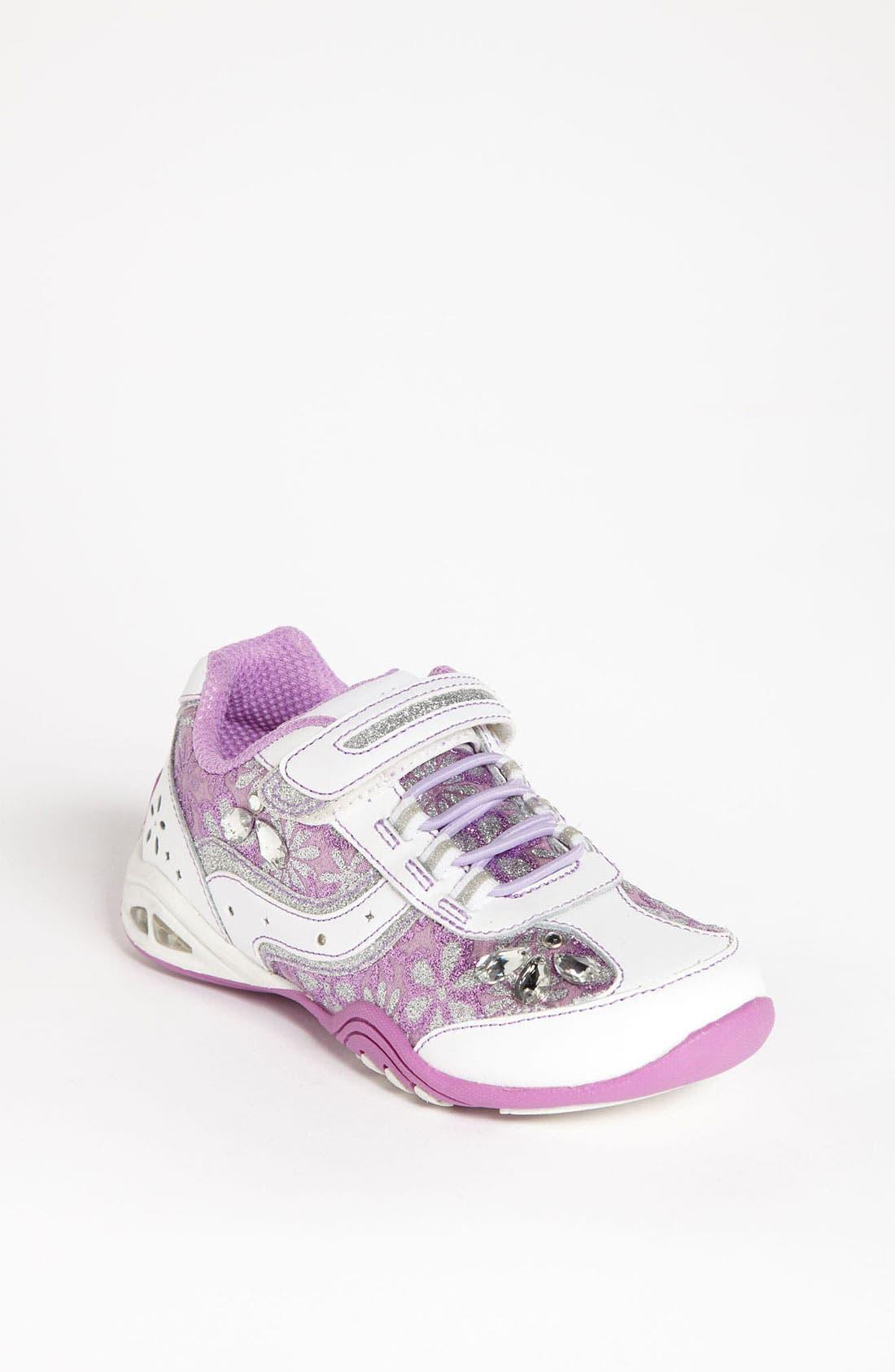 Alternate Image 1 Selected - Stride Rite 'Mona' Sneaker (Toddler & Little Kid)